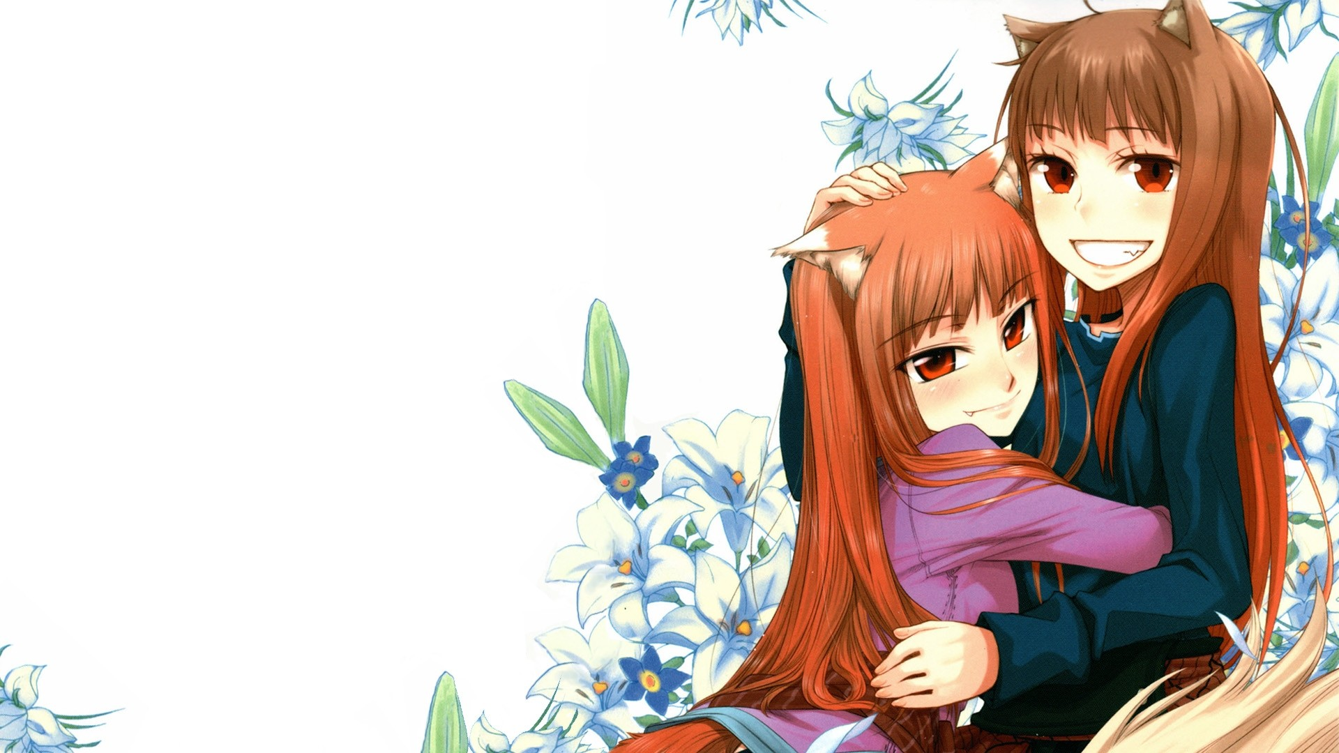 Spice And Wolf Widescreen Wallpaper