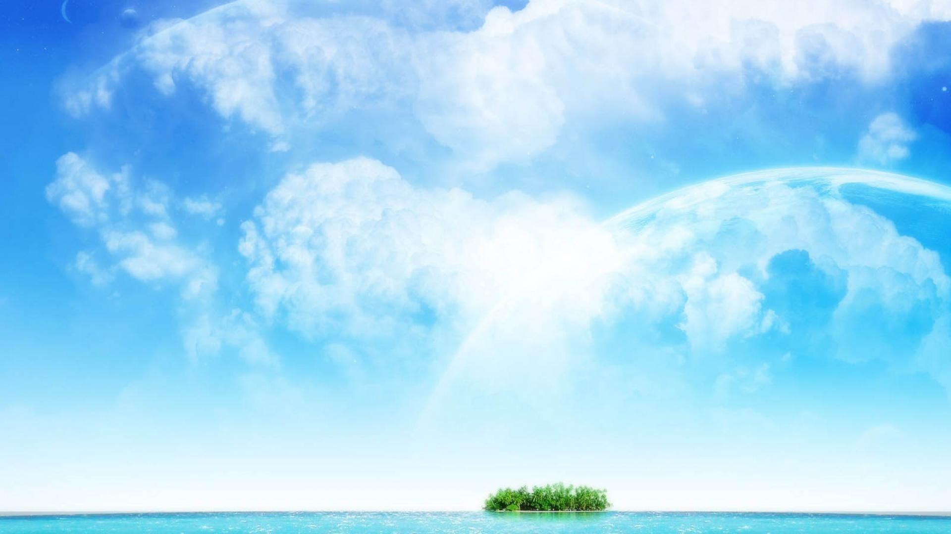 blue sky wallpaper (71+ images)