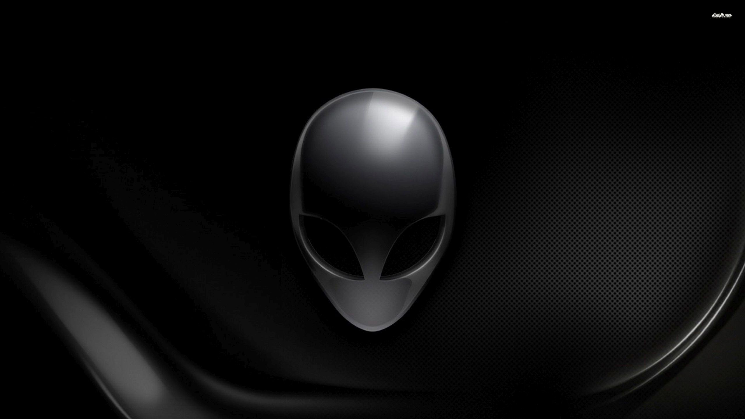 2560x1440 Black Alienware wallpaper - 1203685