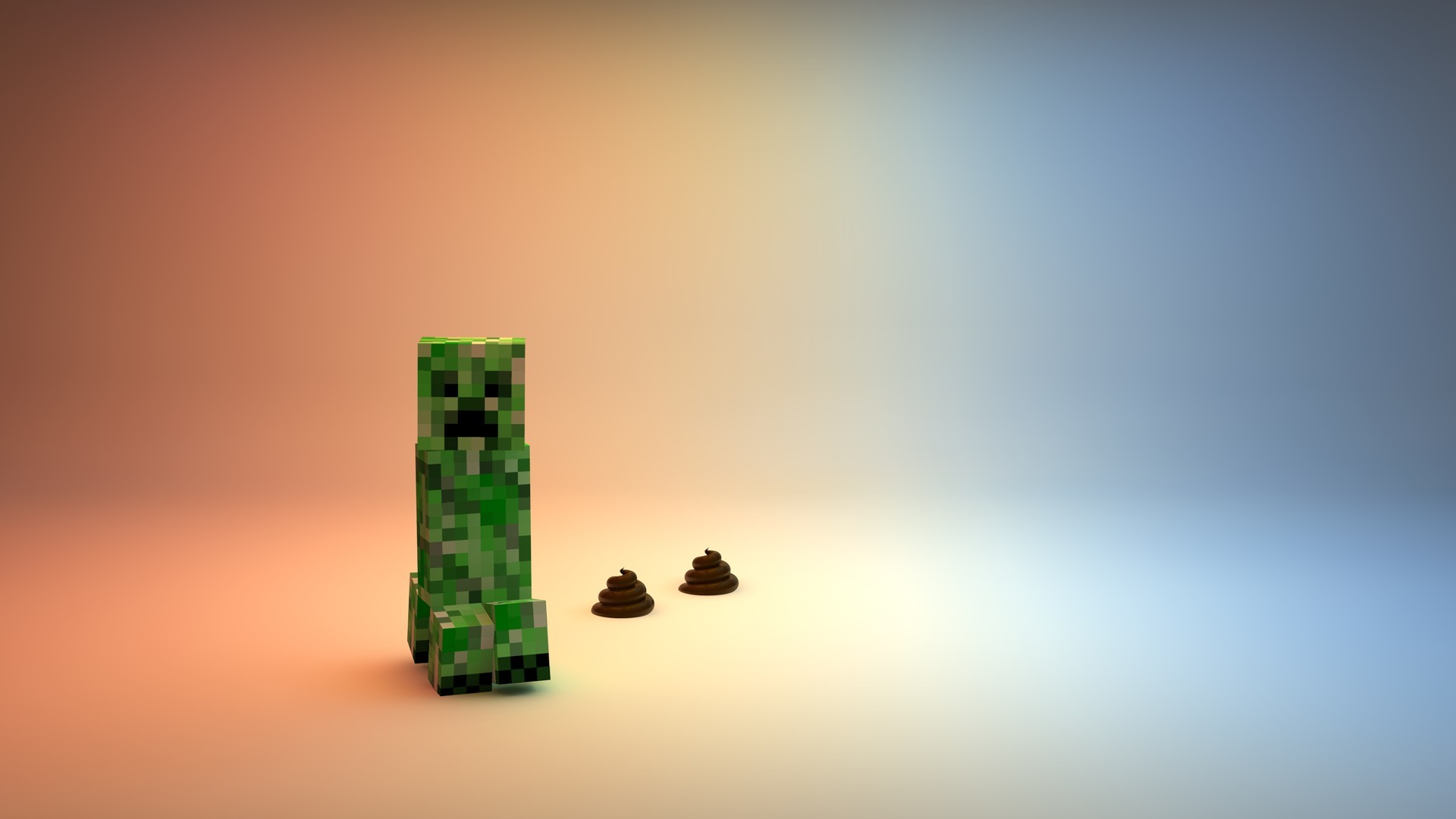 1920x1080 Creeper Minecraft Cool Pictures HD Wallpaper