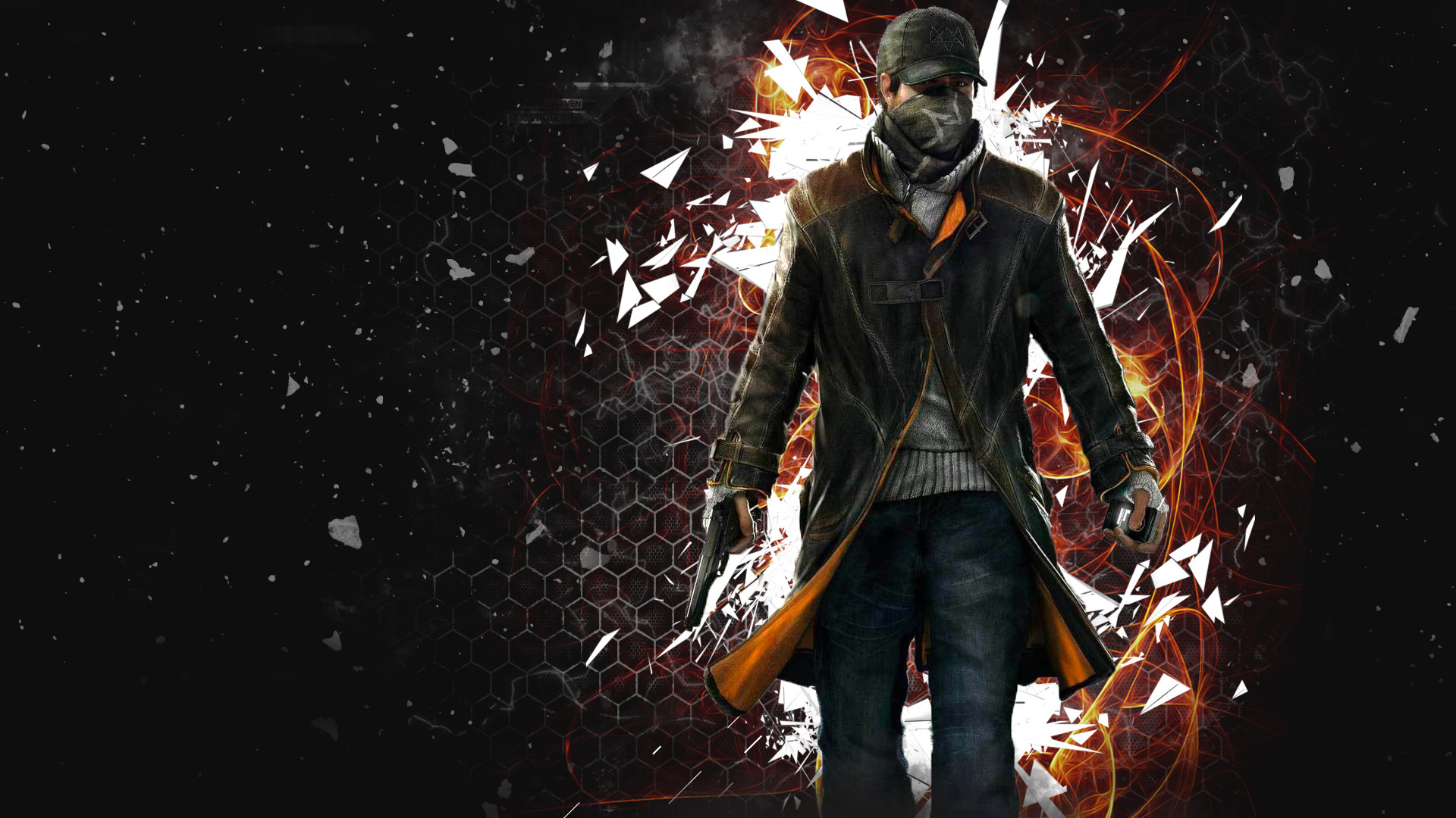 1920x1080 Watch Dogs Background Wallpaper 17082
