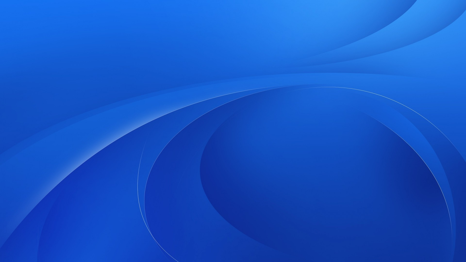 1920x1080 Download Wallpaper  Blue, Line, Oval, Background .