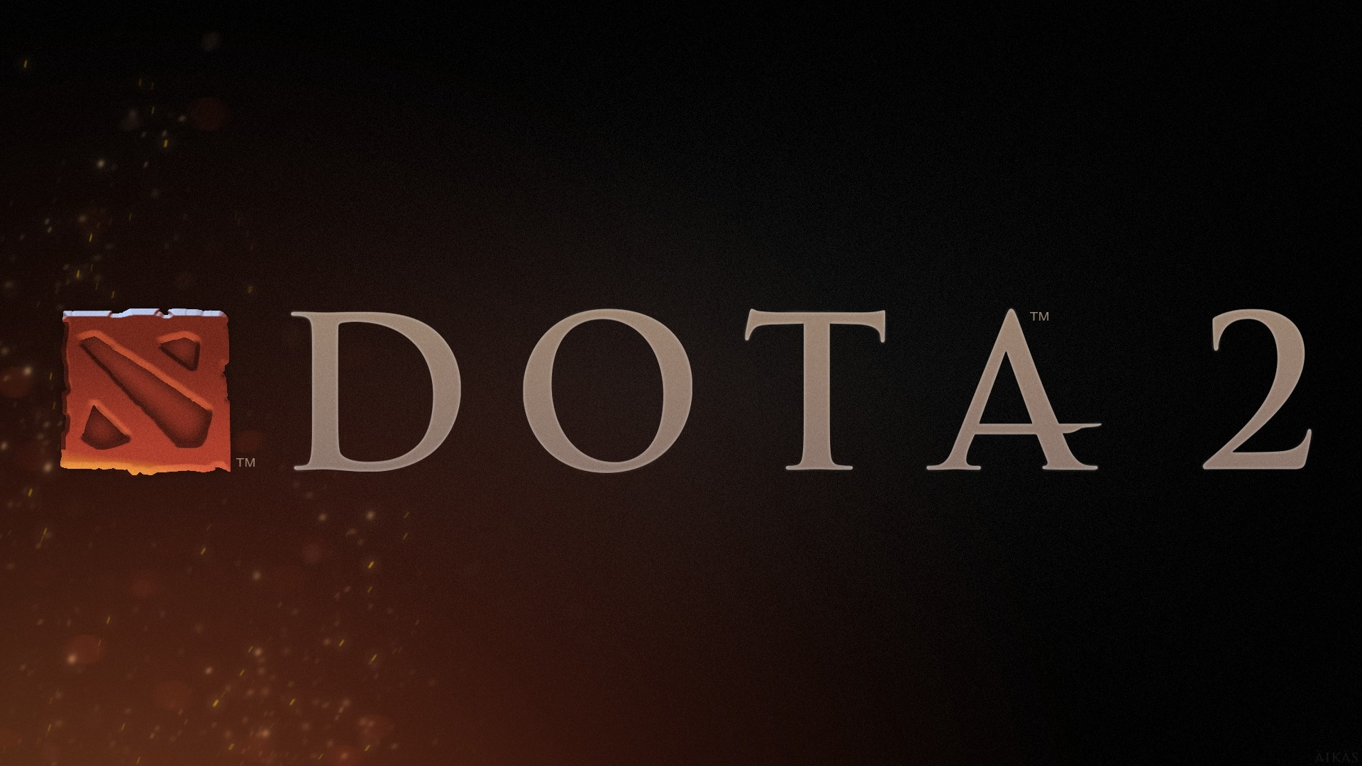 1920x1080 Preview wallpaper dota 2, art, logo