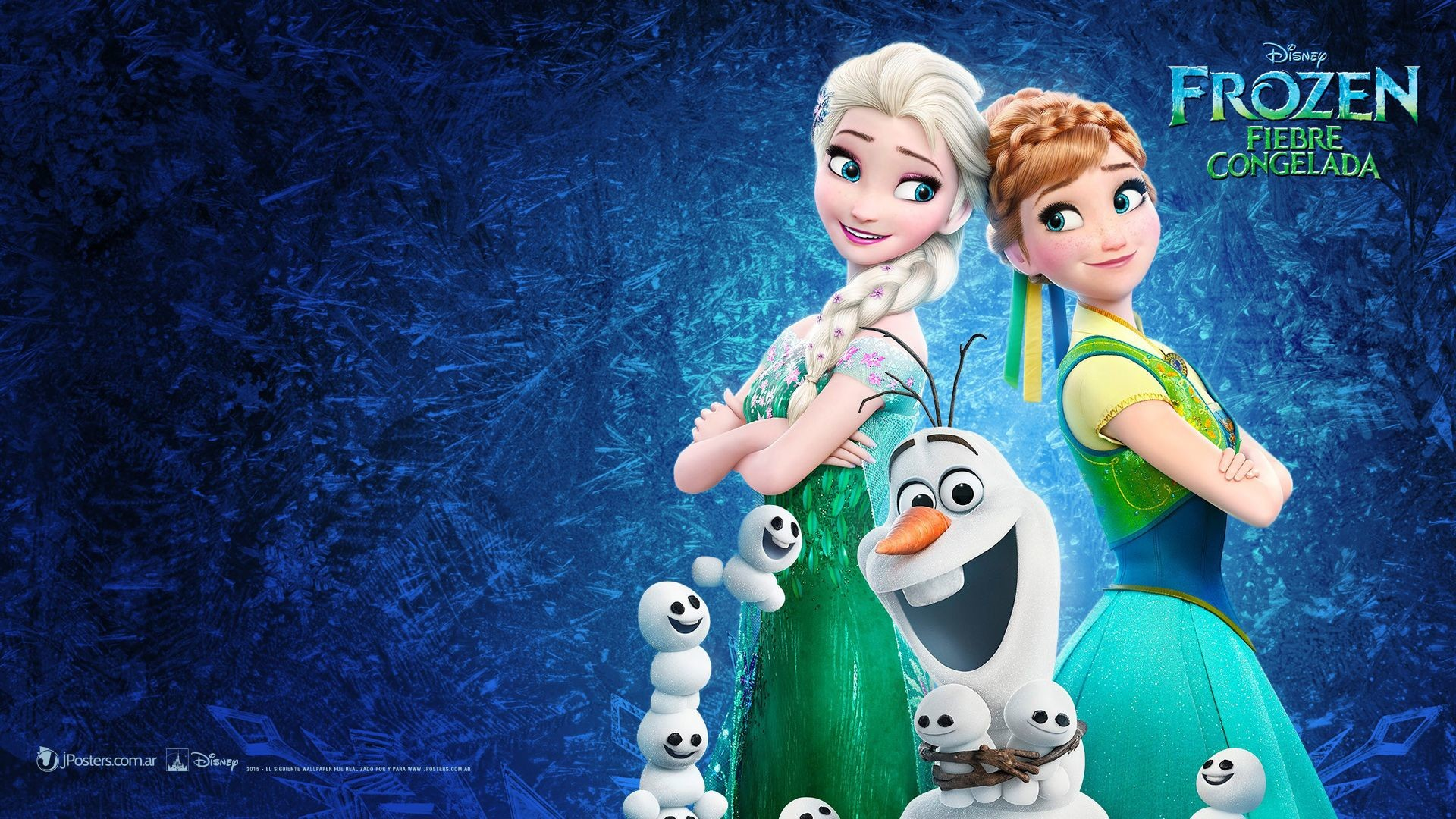 1920x1080 Frozen Fever HD Wallpaper and background photos of Frozen Fever Wallpaper  for fans of Frozen Fever images.
