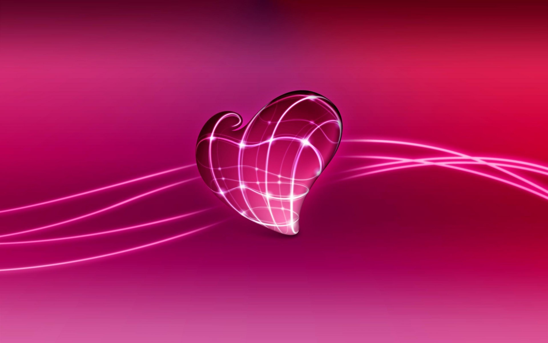3d Heart Wallpaper Screensavers 54 Images
