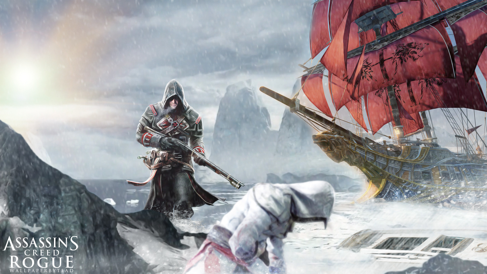 1920x1080 ... Assassin's Creed Rogue wallpaper by teaD by santap555