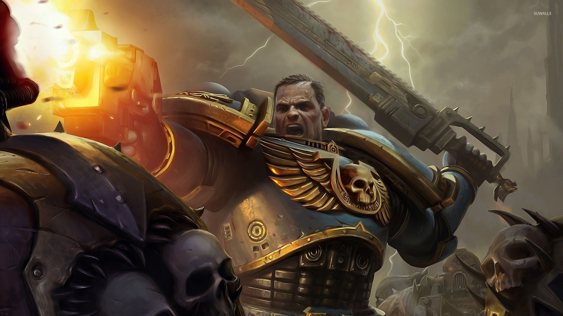 1920x1080 Space Marine Warhammer 40,000 wallpapers (38 Wallpapers)