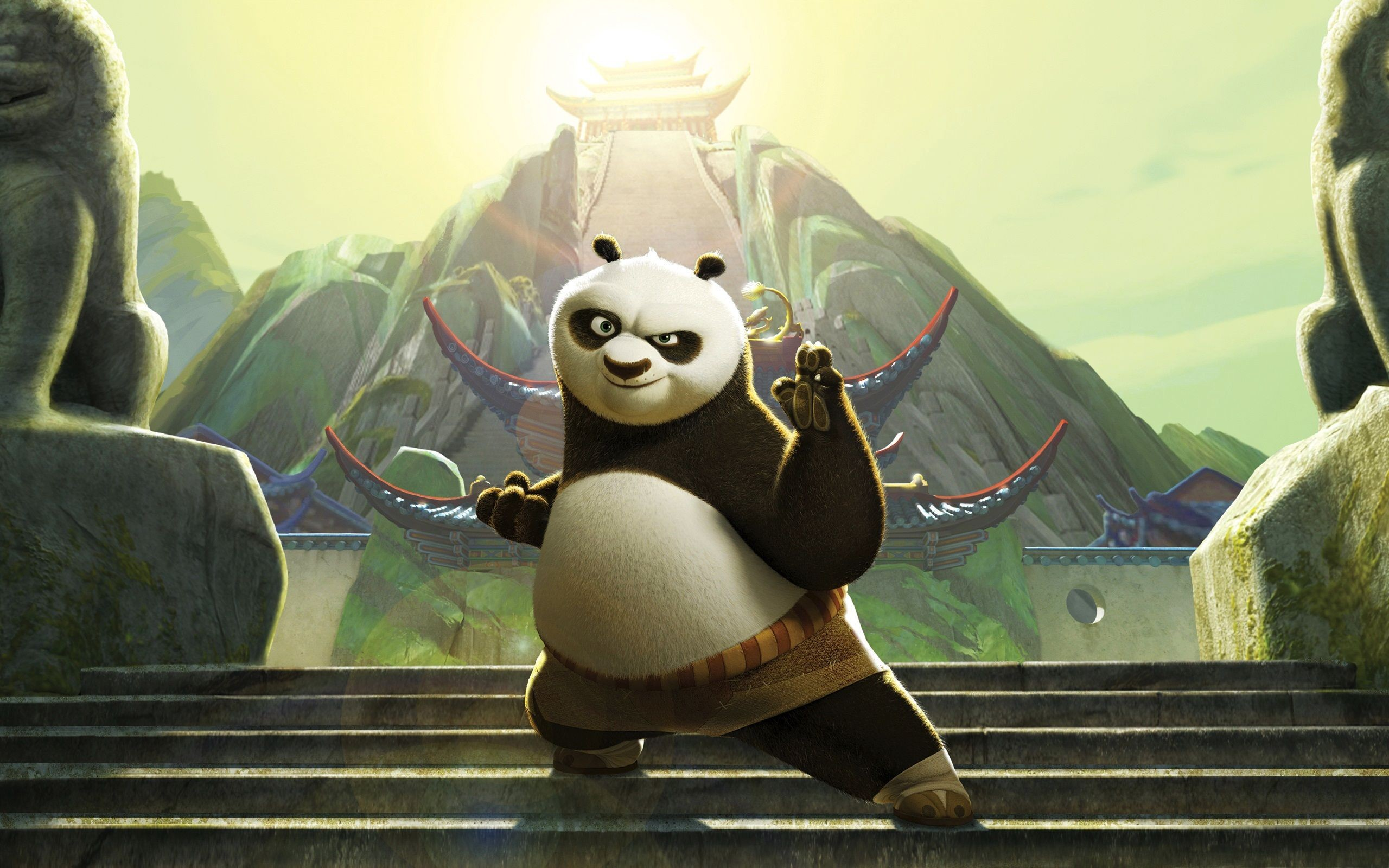 2560x1600 Kung Fu Panda 1 & 2 HD Movie Wallpapers - Page 1