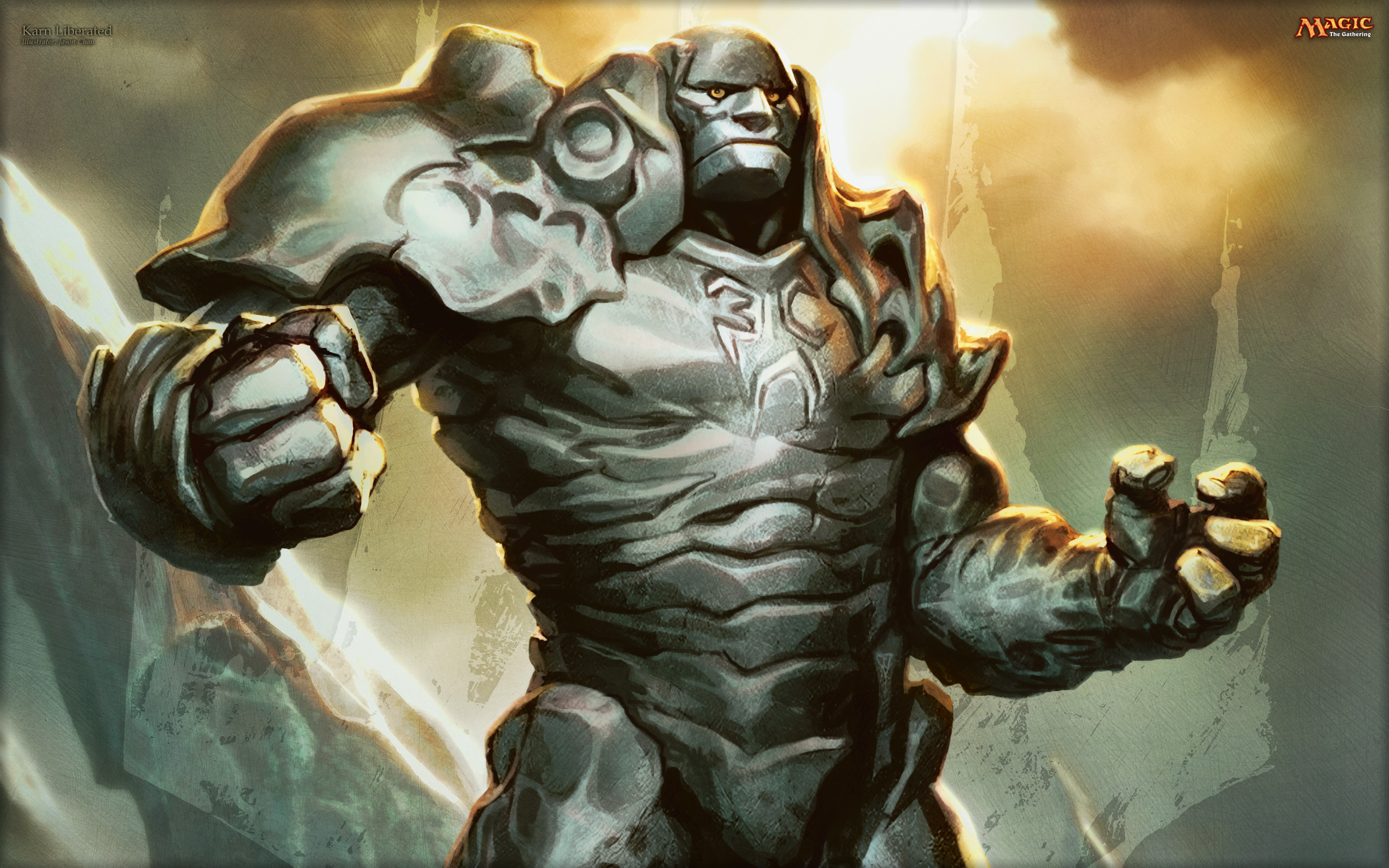 2560x1600 Wallpaper Of The Week Karn Liberated Daily Mtg Magic The