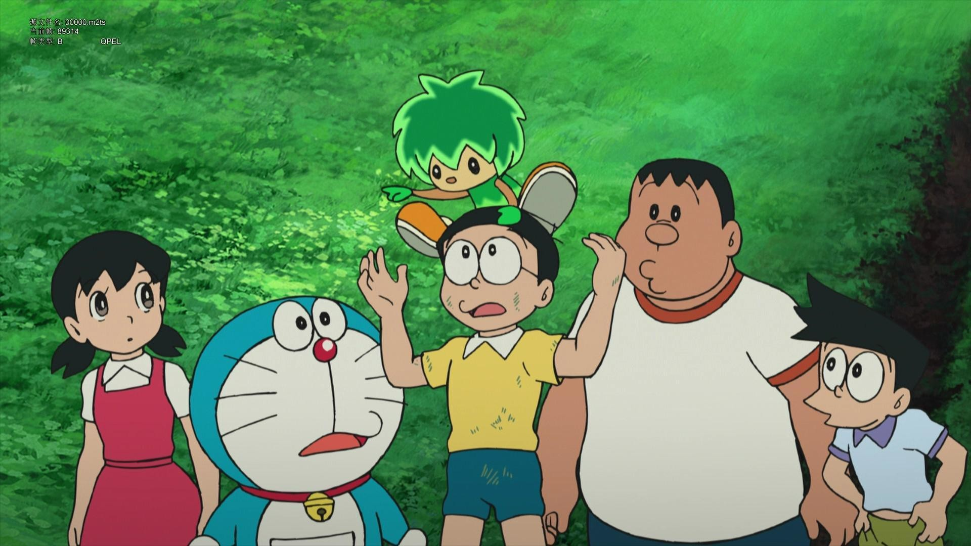 1920x1080 Doraemon and Nobita Cartoon