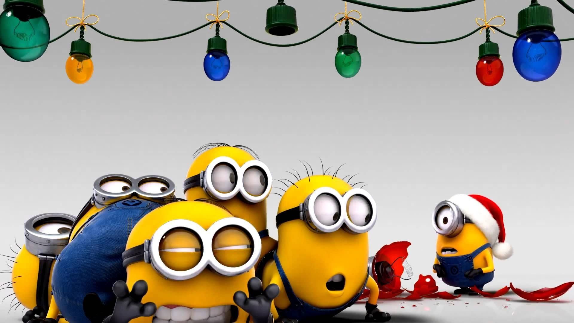Minion christmas wallpaper 61 images - Free funny christmas desktop wallpaper ...