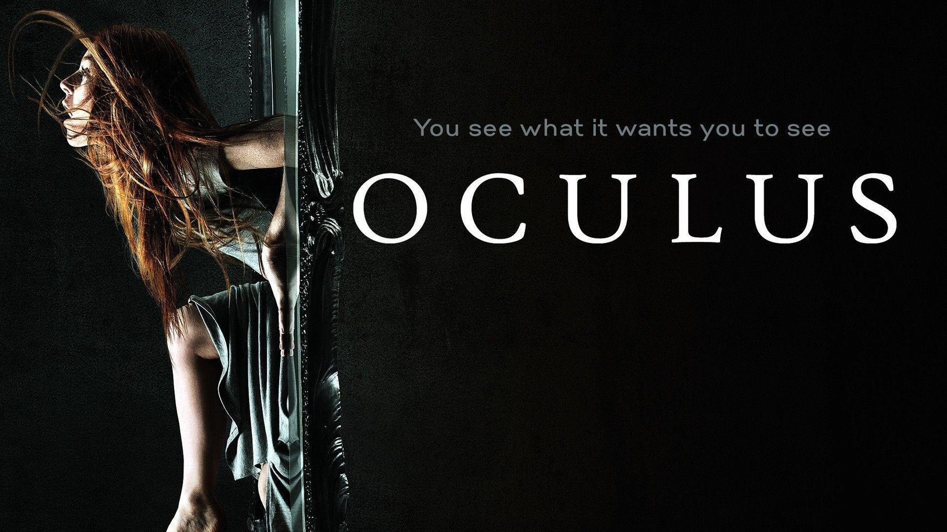 1920x1080 New Oculus 2014 Horror Movie Poster Wallpaper HD for Desktop .