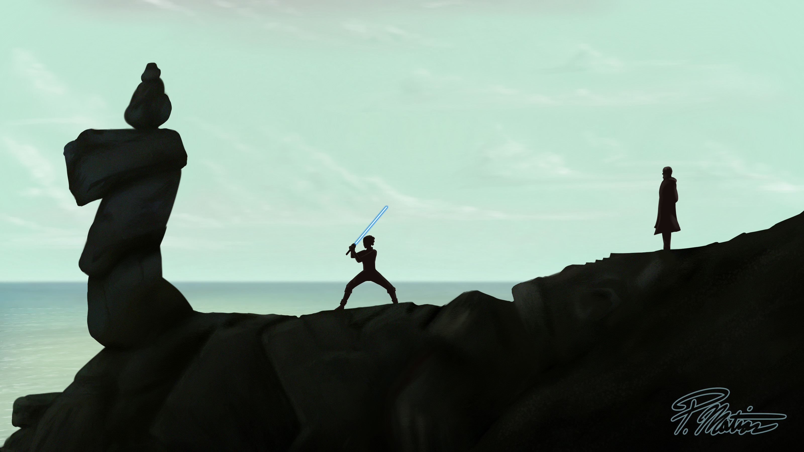 3200x1800 Rey Training Artwork