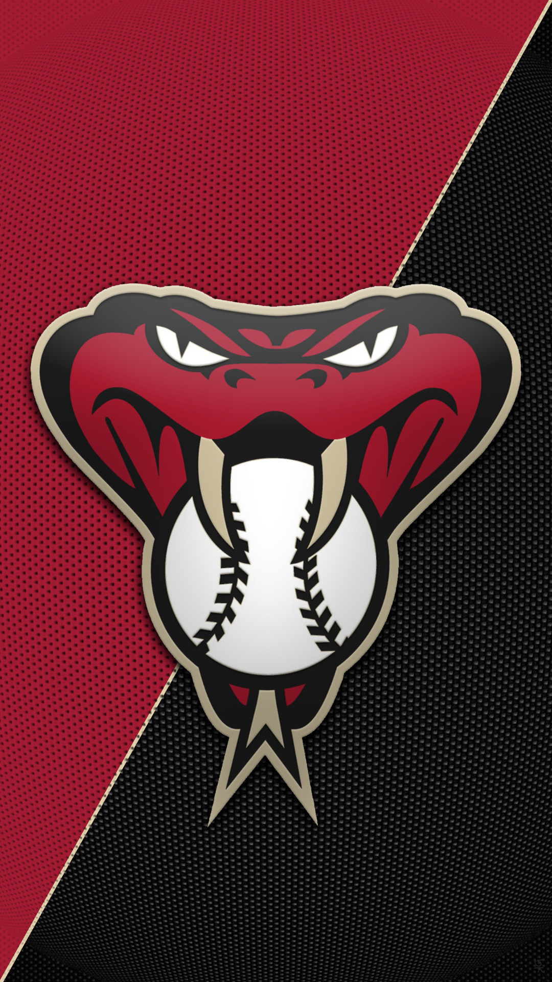 1080x1920 Hey Tigger can you make another Arizona Diamondbacks snakehead logo  wallpaper like you did before for me but in their old school colors of  copper/ teal ...