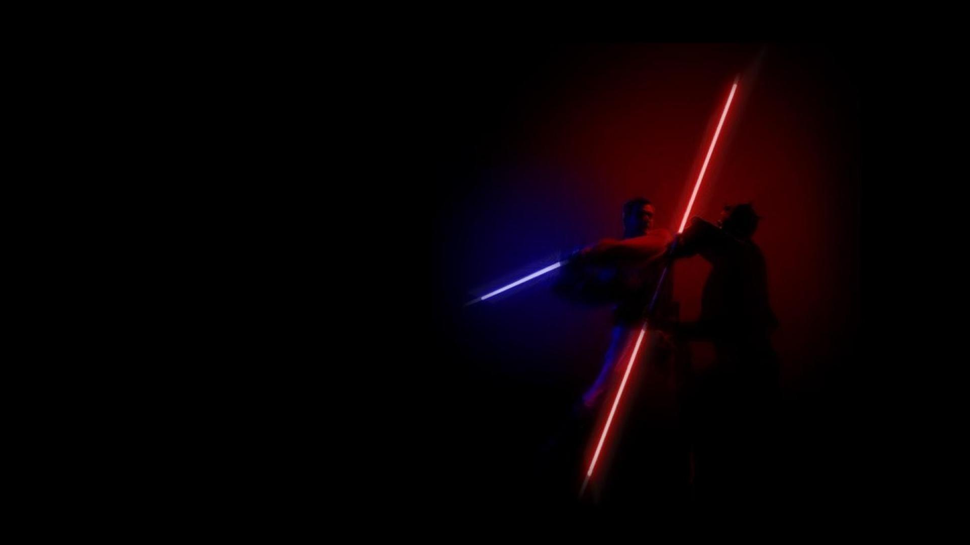 Star Wars Lightsaber Duel Wallpaper