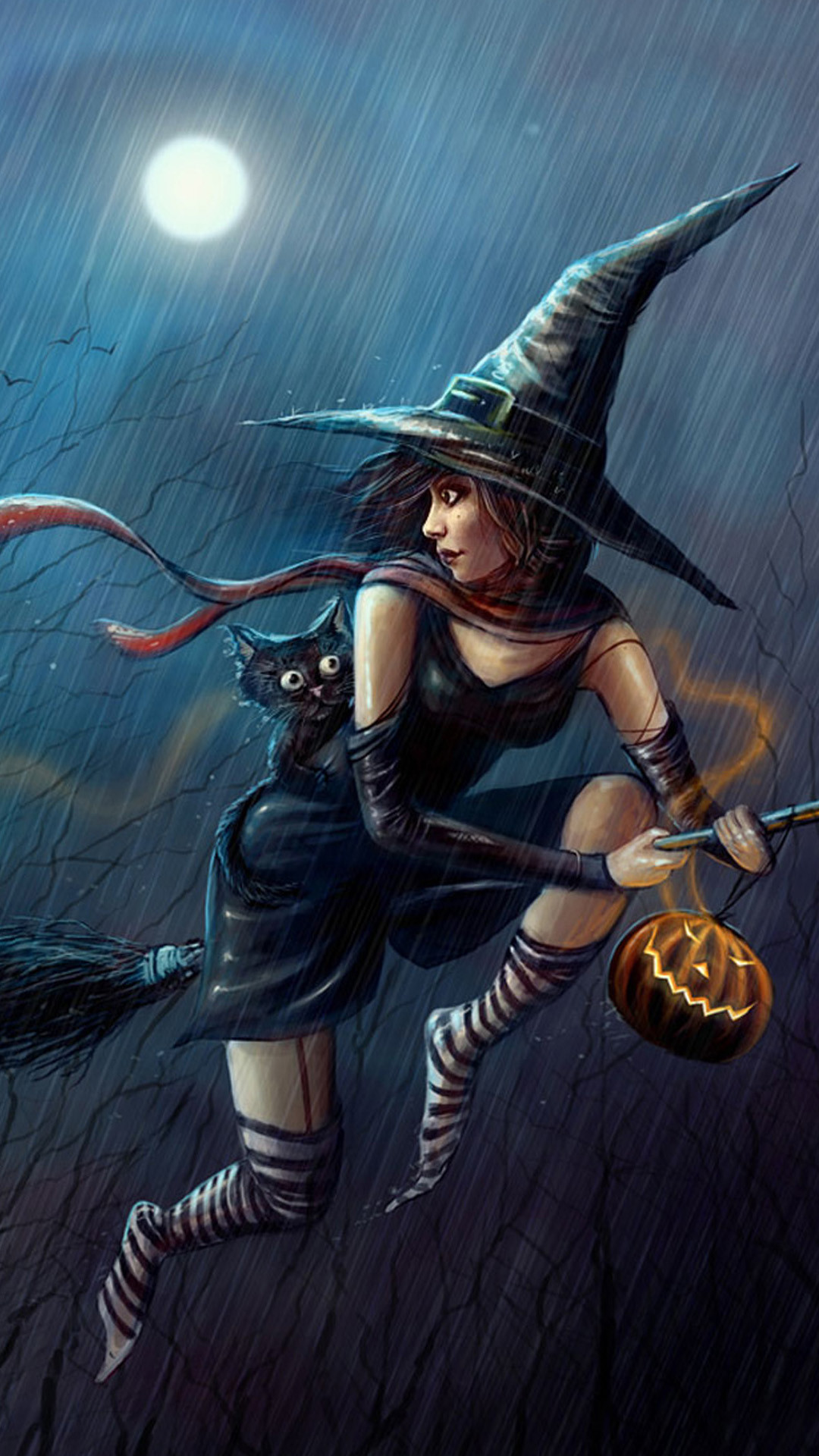 Halloween Witch Wallpaper (68+ images)