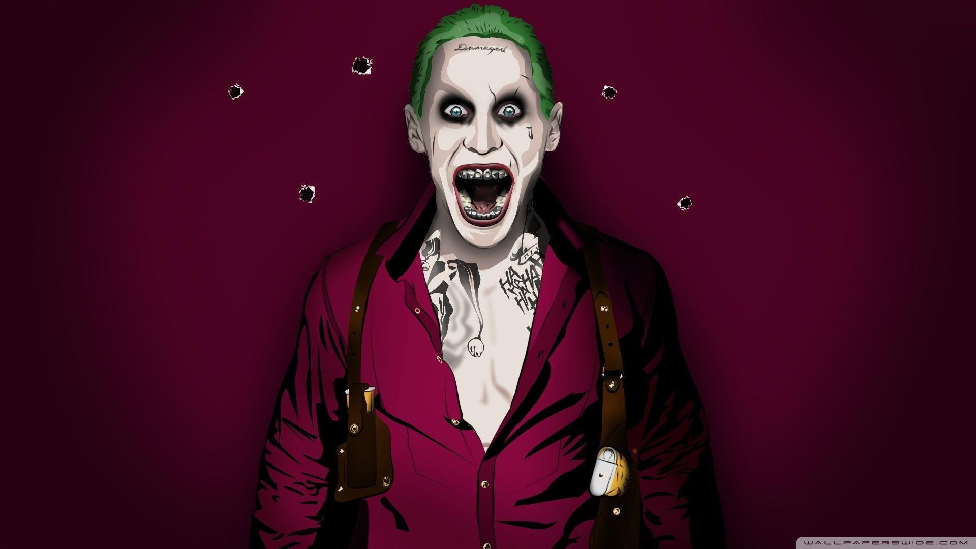 Jared Leto Joker Wallpaper Hd 1080p