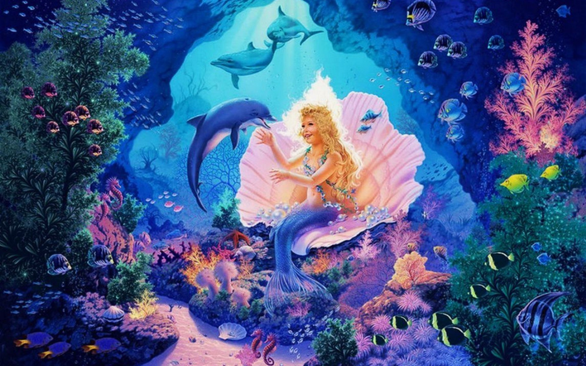 1920x1200 Little Mermaid Princess wallpapers and stock photos
