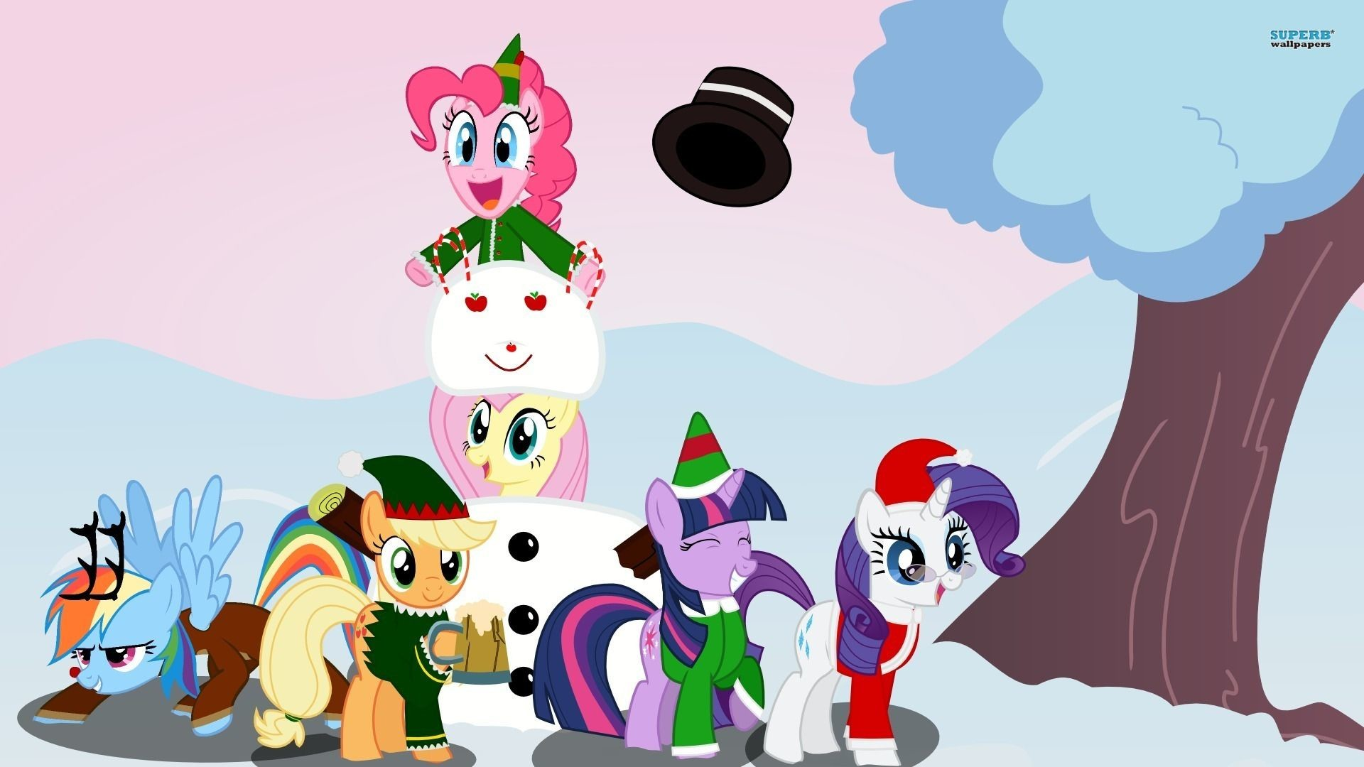 My Little Pony Christmas.My Little Pony Christmas Wallpaper 74 Images