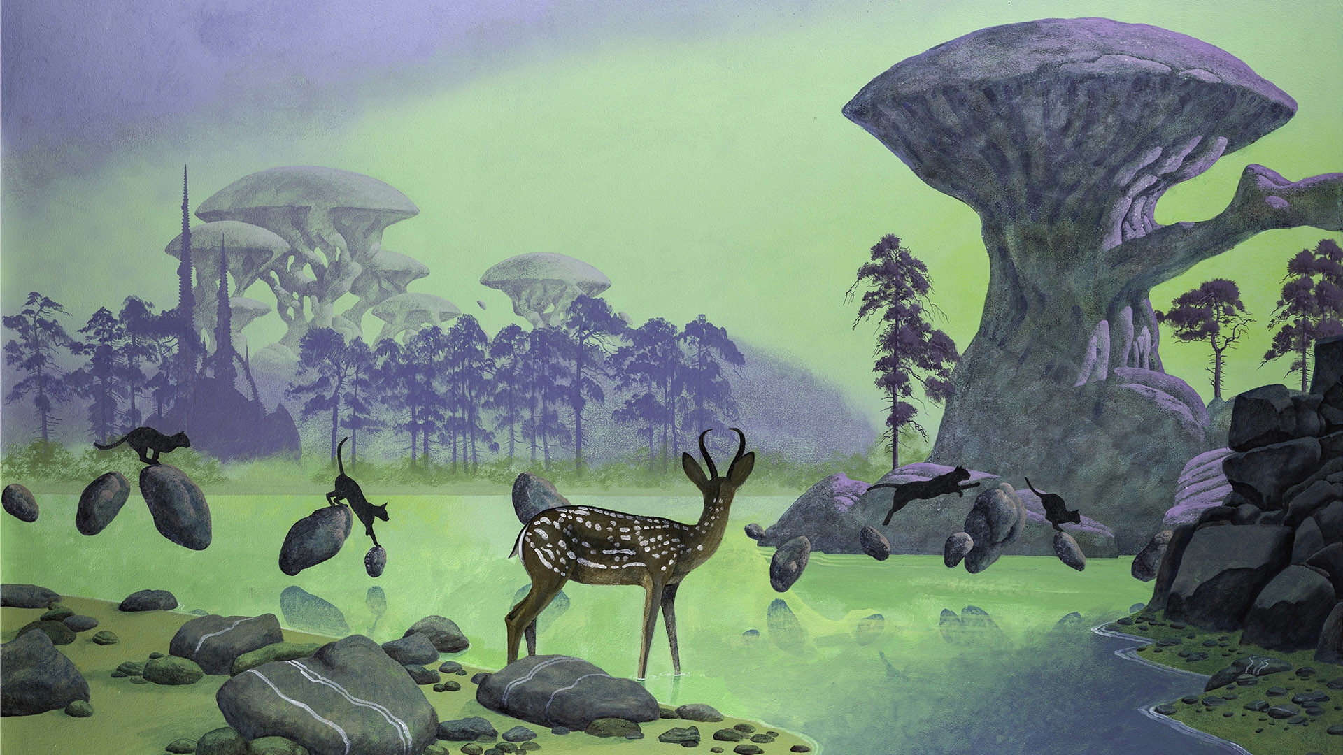 1920x1080 ... wallpaper Gallery Source · roger dean yes Ecosia