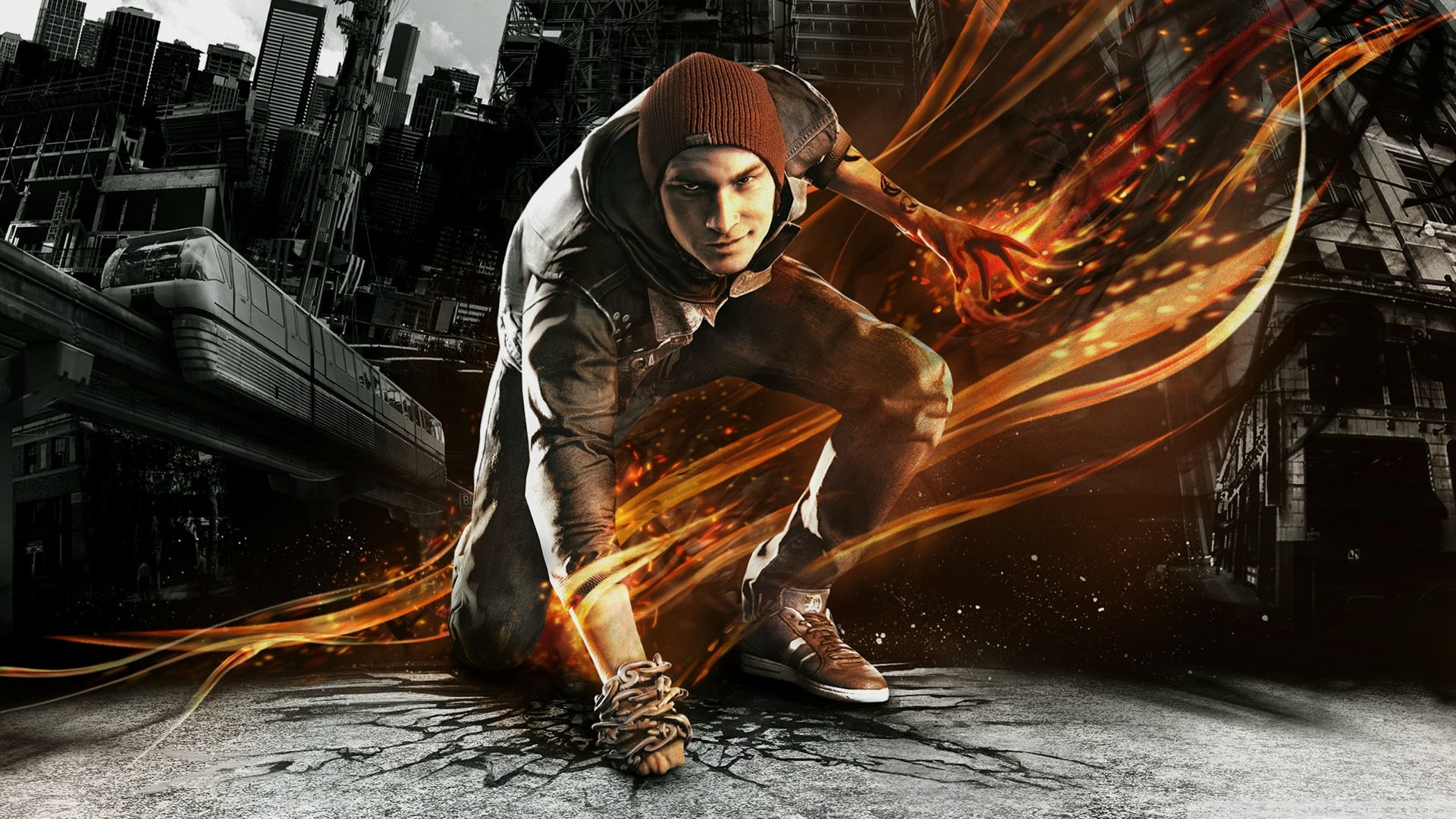 1920x1080 inFAMOUS: Second Son HD Wallpaper 13 - 1920 X 1080