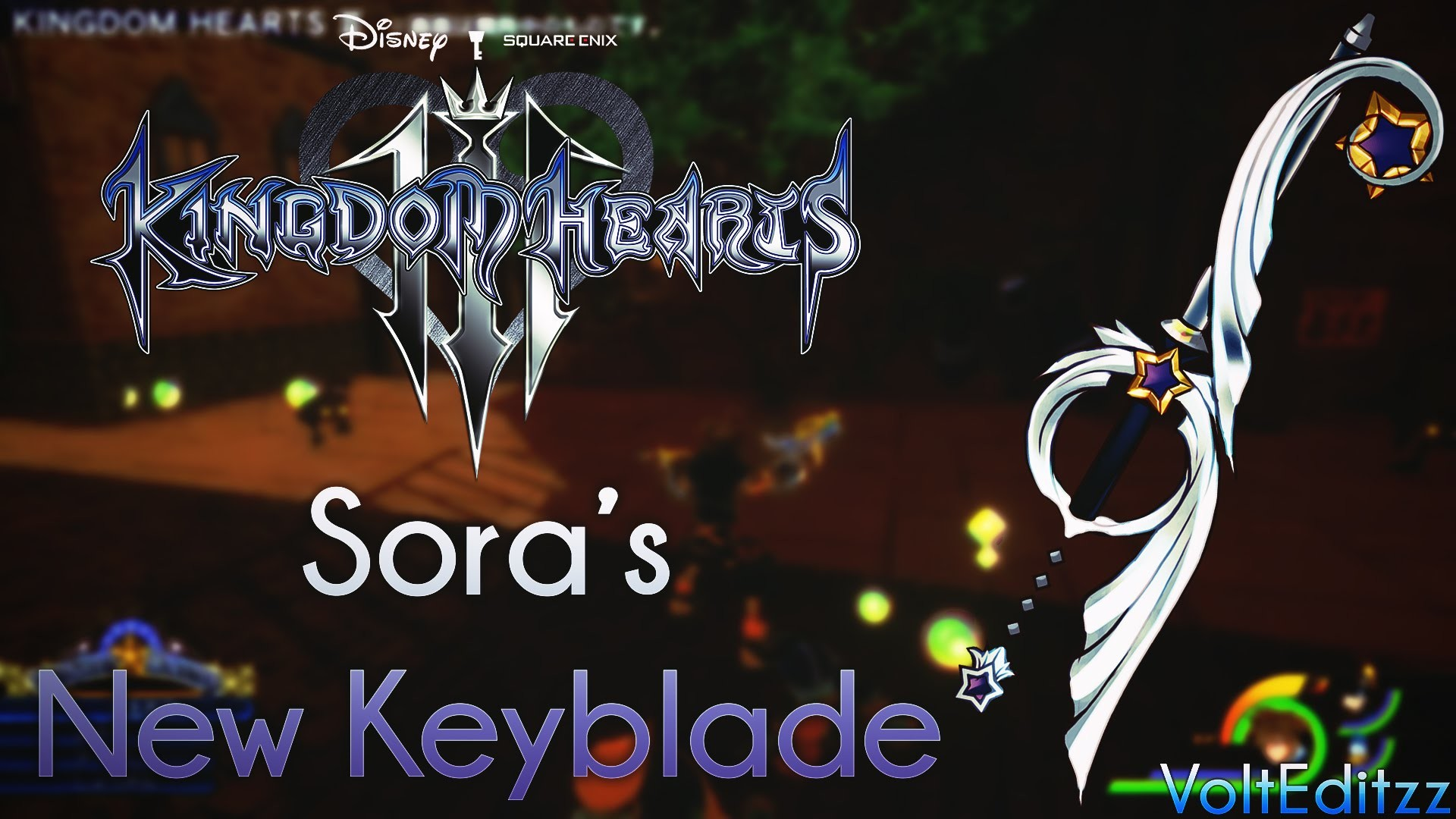 Kingdom Hearts Keyblade Wallpaper (74+ images)