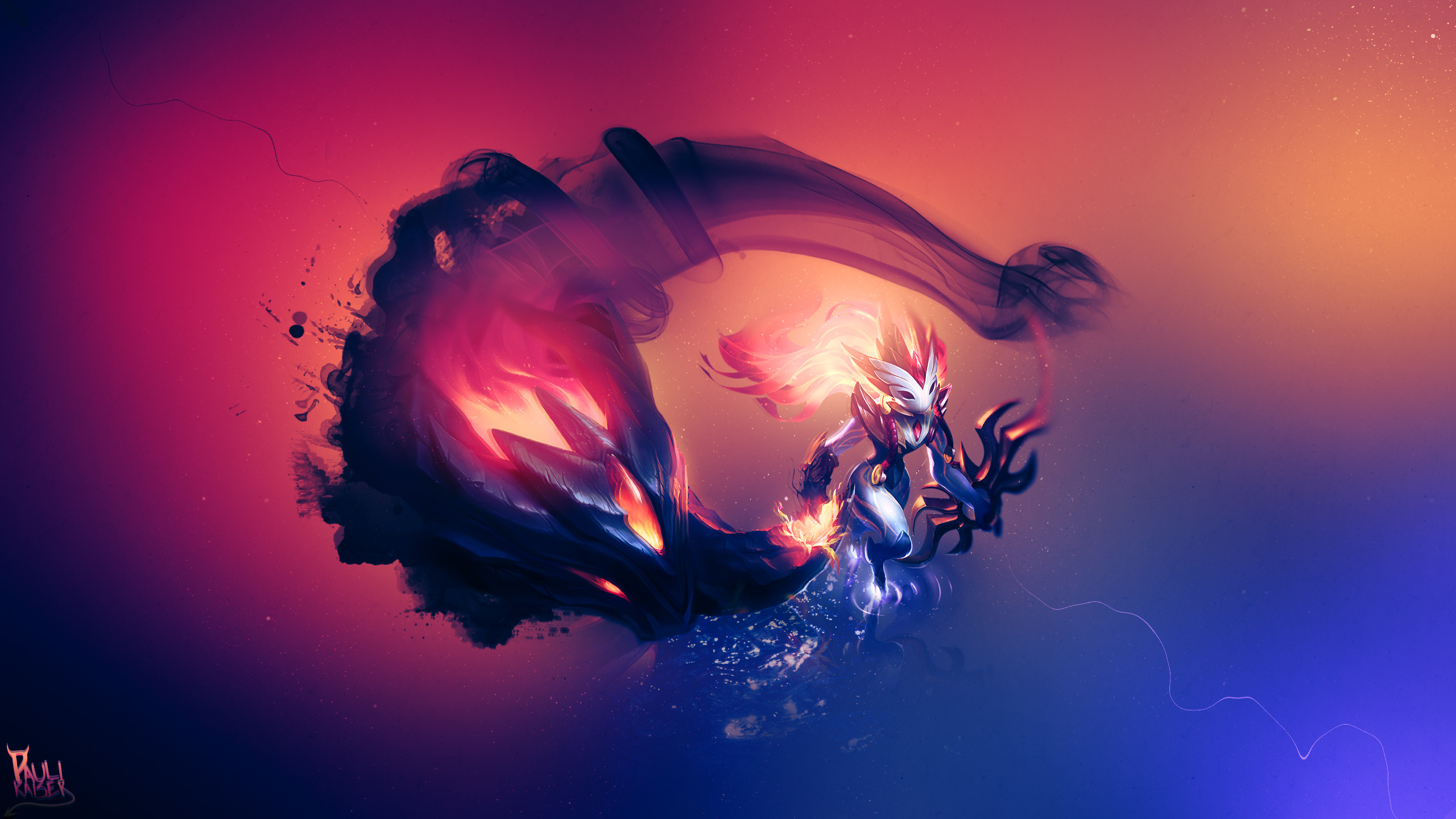 Hd Wallpapers Artworks For League Of: Kindred LoL Wallpaper (79+ Images