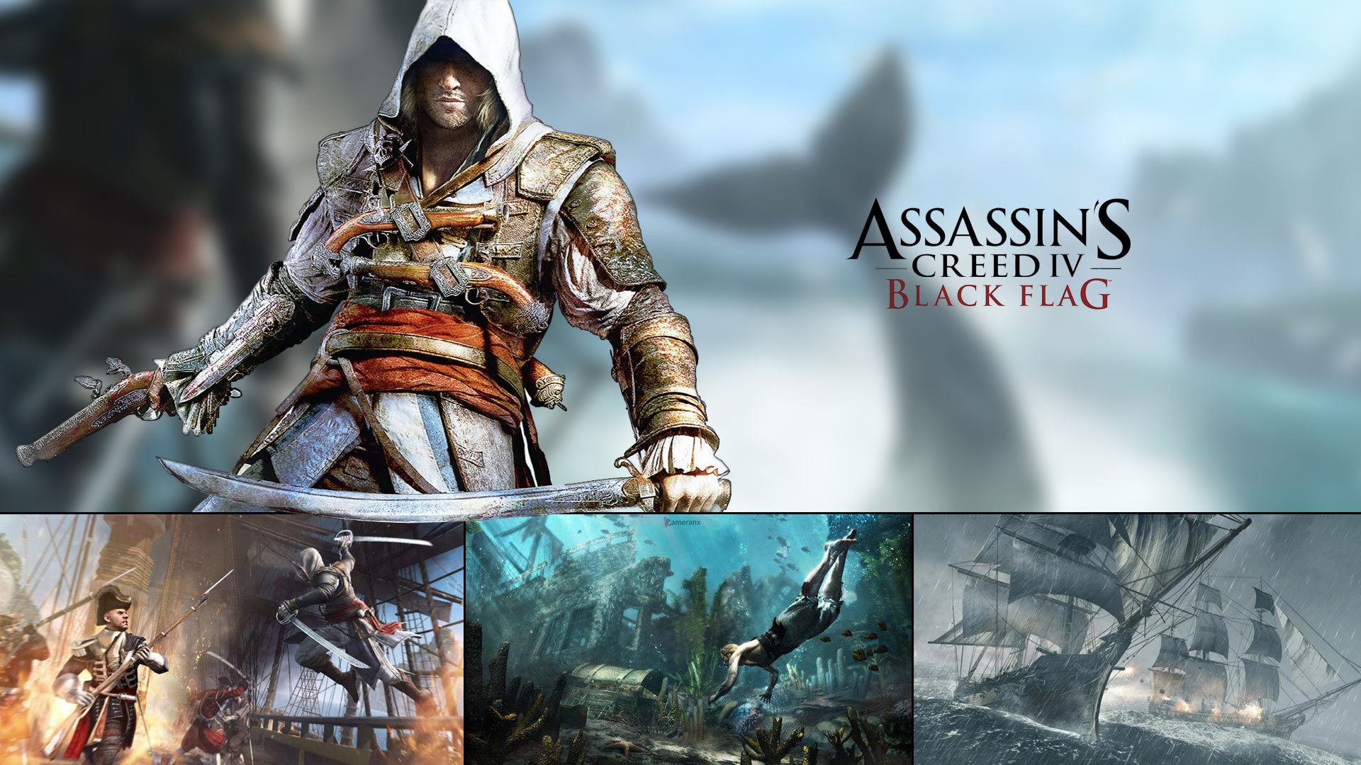Download The Assassin S Creed Iv Black Flag Wallpapers: Ac4 Black Flag Wallpaper (81+ Images