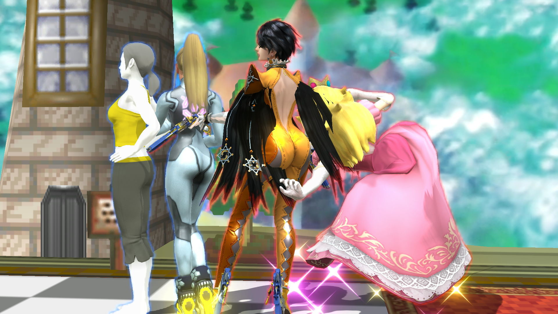 1920x1080 Bayonetta's BOOTY is WAY BIGGER than I remember - Super Smash Bros. for Wii  U Message Board for Wii U - GameFAQs