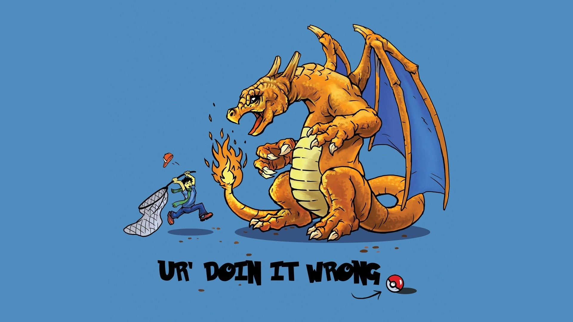 1920x1080 Funny Catching Pokemon New Wallpaper Wallpaper