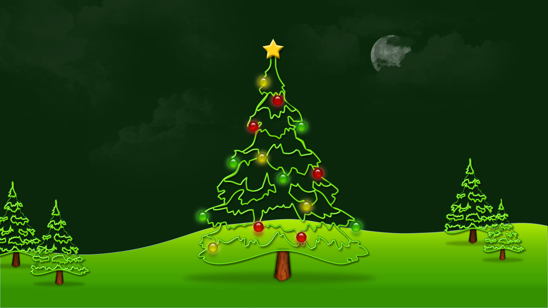 1920x1080 Animated christmas wallpaper for computer - Merry Christmas Wallpapers. Download