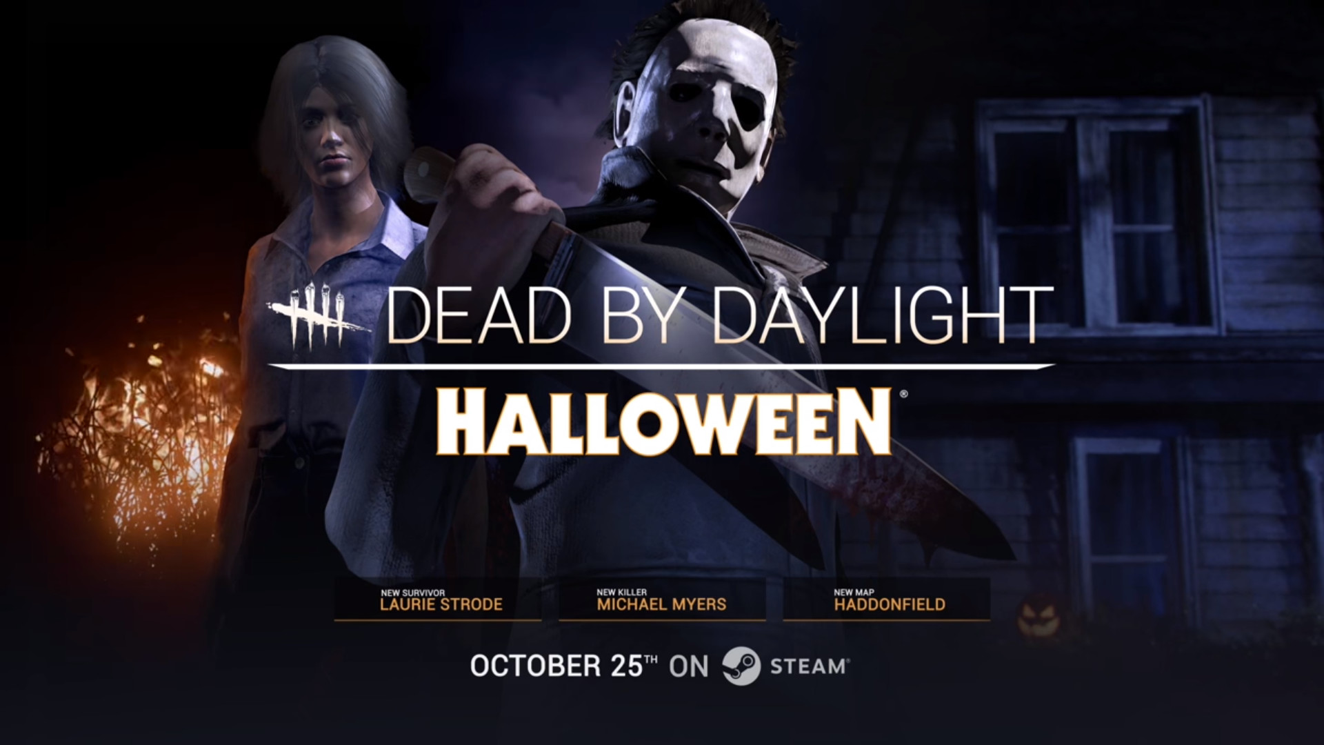 "1920x1080 ... are embracing the Halloween spirit by releasing a Halloween themed DLC  called ""Halloween Chapter"" where you get to be the famed killer Michael  Myers ..."