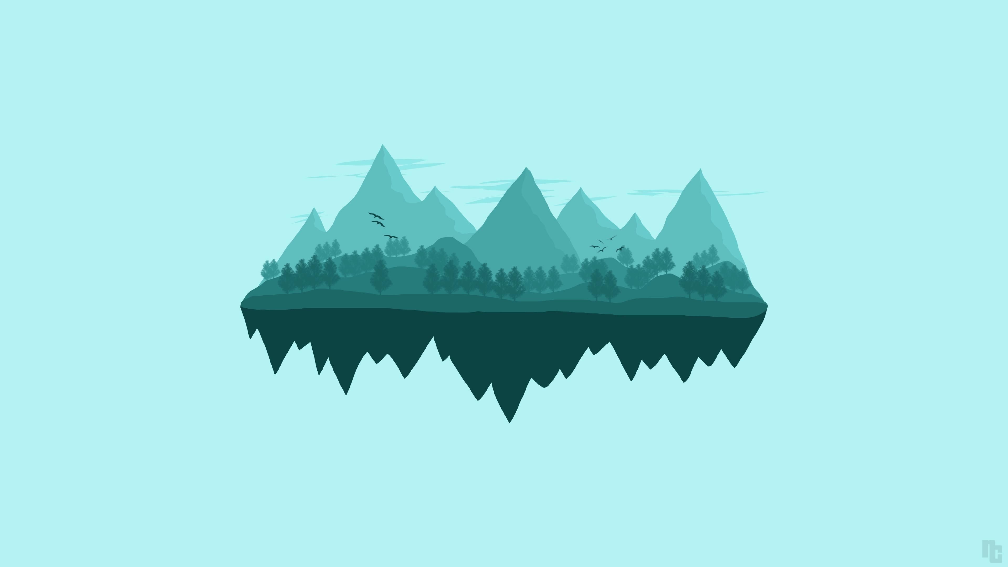 Minimalism Mountain Peak Full Hd Wallpaper: 4K Minimalist Wallpaper (67+ Images