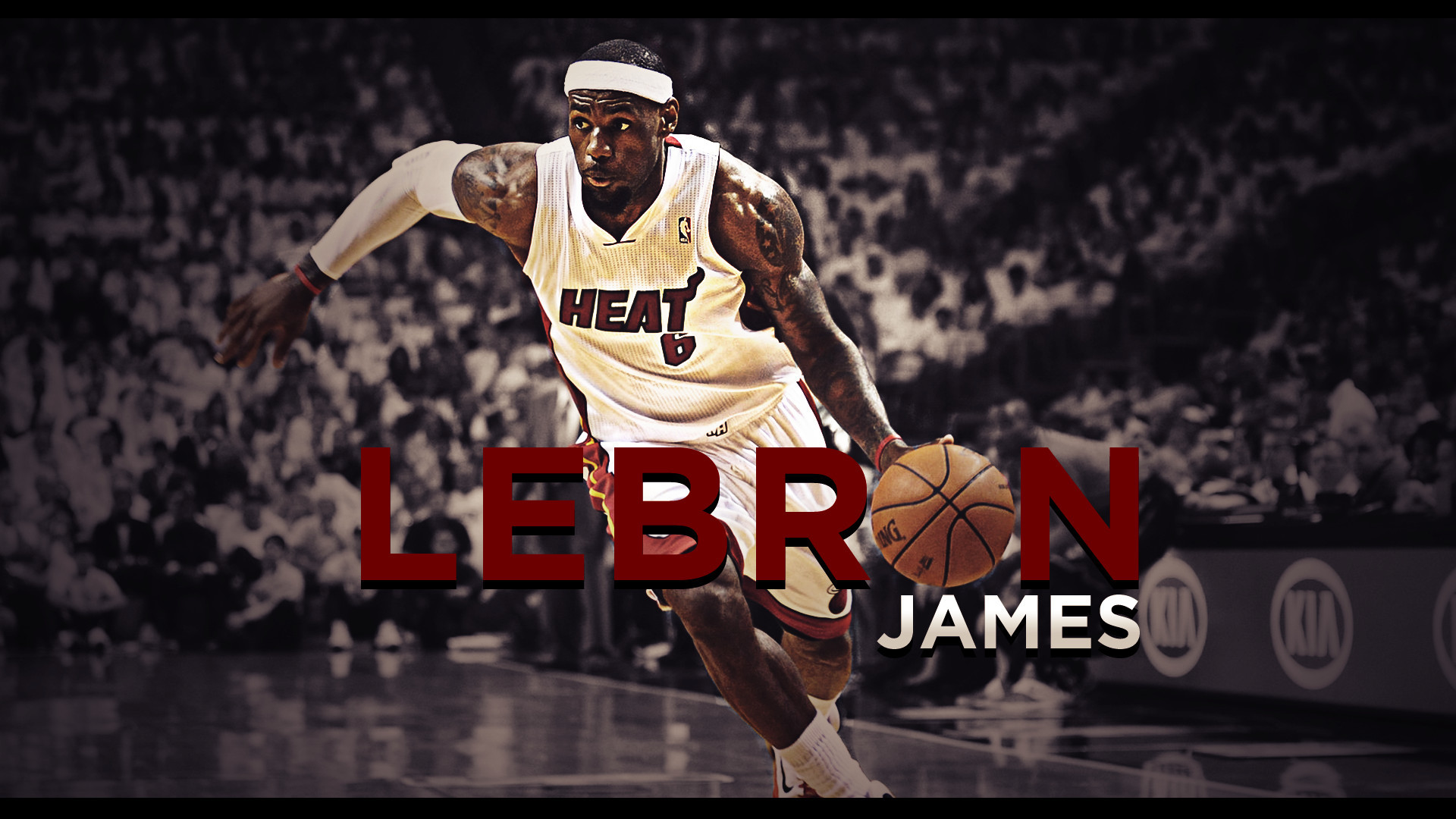1920x1080 LeBron James Miami Heat Finals 2012 NBA Wallpaper - will LeBron win his  first NBA Championship in