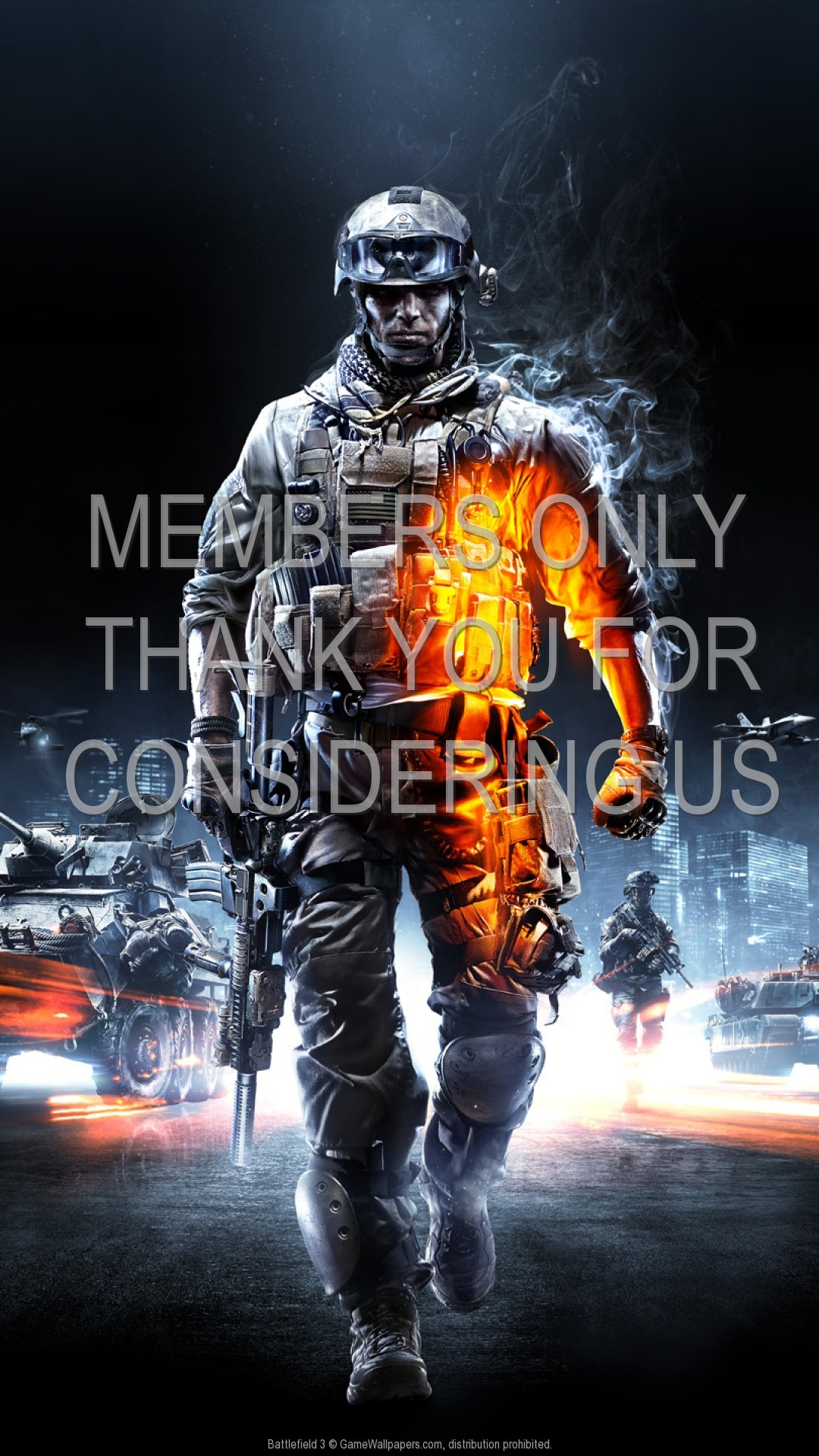 1080x1920 Battlefield 3 1920x1080 Mobile wallpaper or background 01