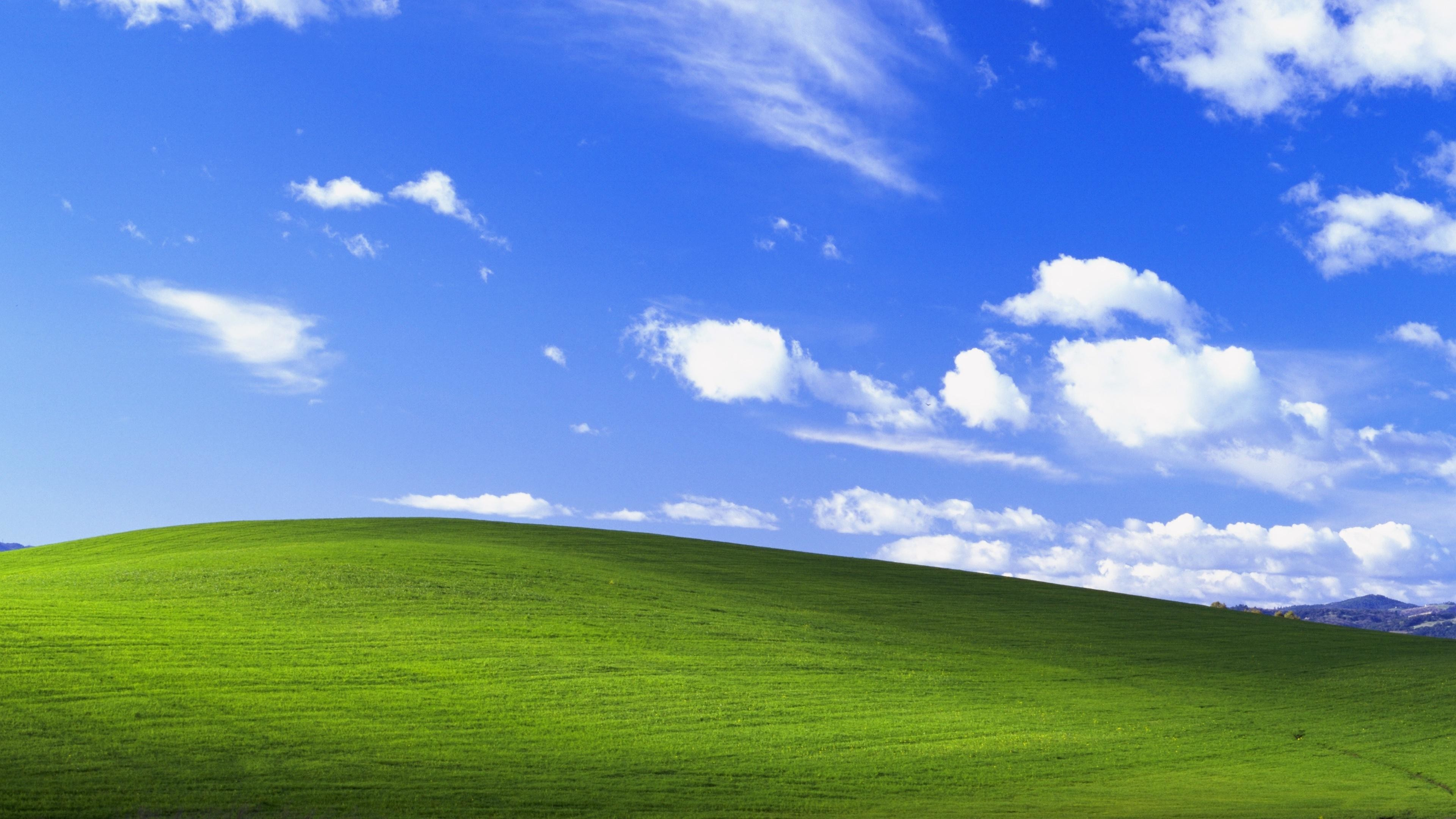 3840x2160 NostalgiaHere's the Windows XP wallpaper in glorious 4K res.