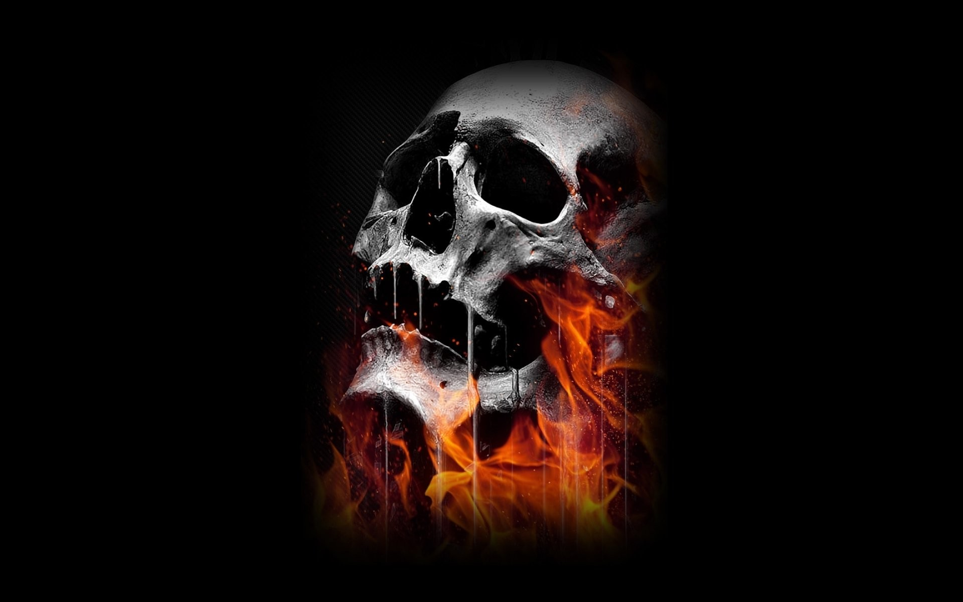 Evil Skull Wallpaper  72  Images