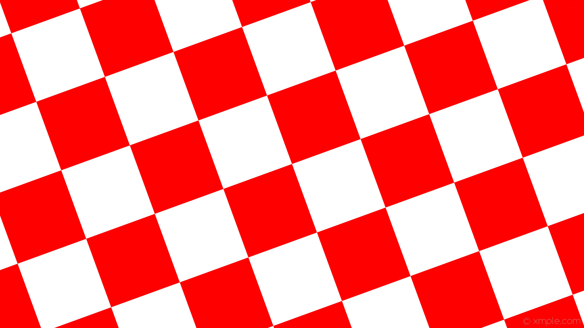 1920x1080 wallpaper checkered white red squares #ffffff #ff0000 diagonal 20° 240px