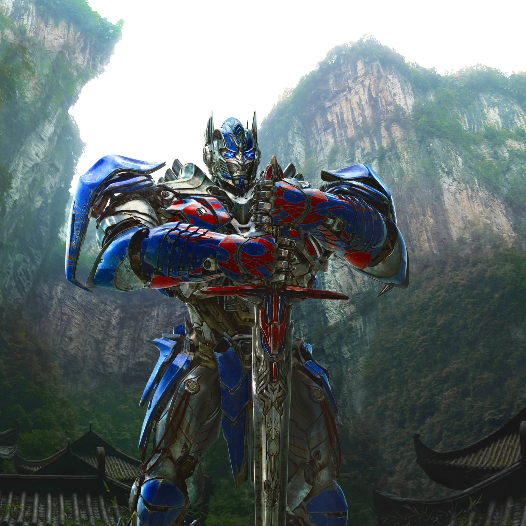 2048x2048  Wallpaper transformers age of extinction, transformers 4, optimus  prime