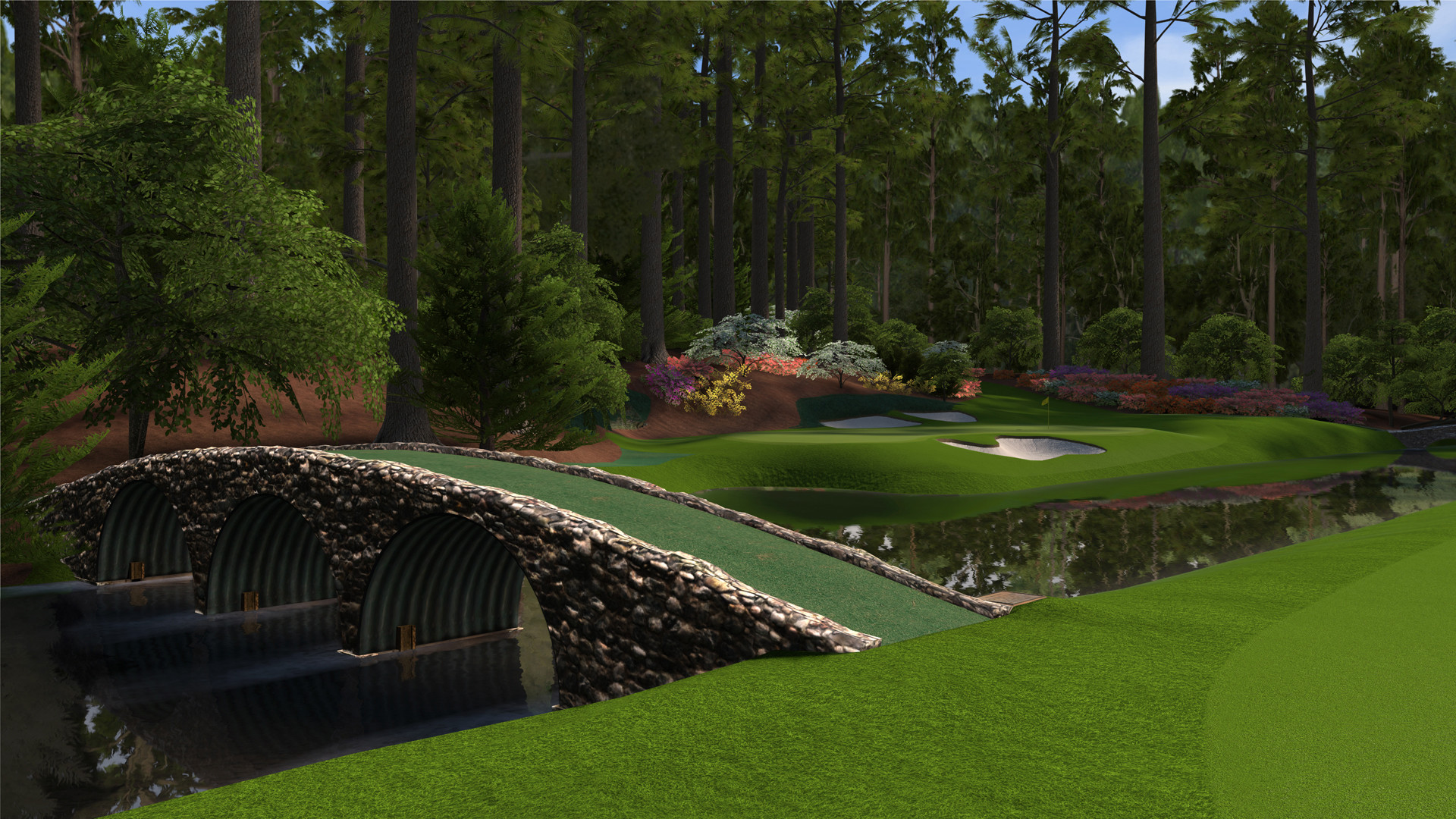 1920x1080 augusta hole 12 570x320 Review Tiger Woods PGA Tour 12 The Masters