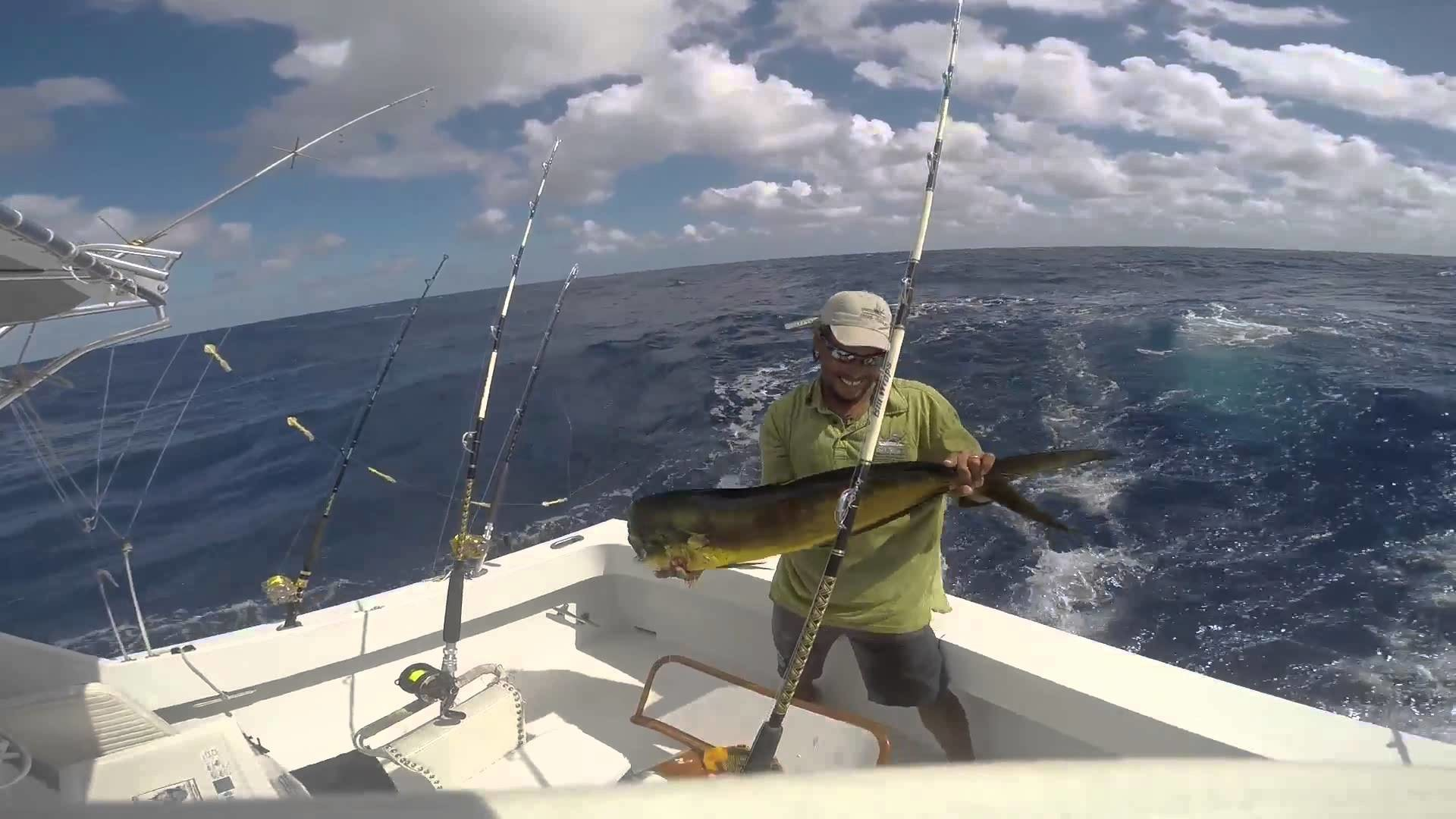 1920x1080 Offshore fishing in Puerto Rico