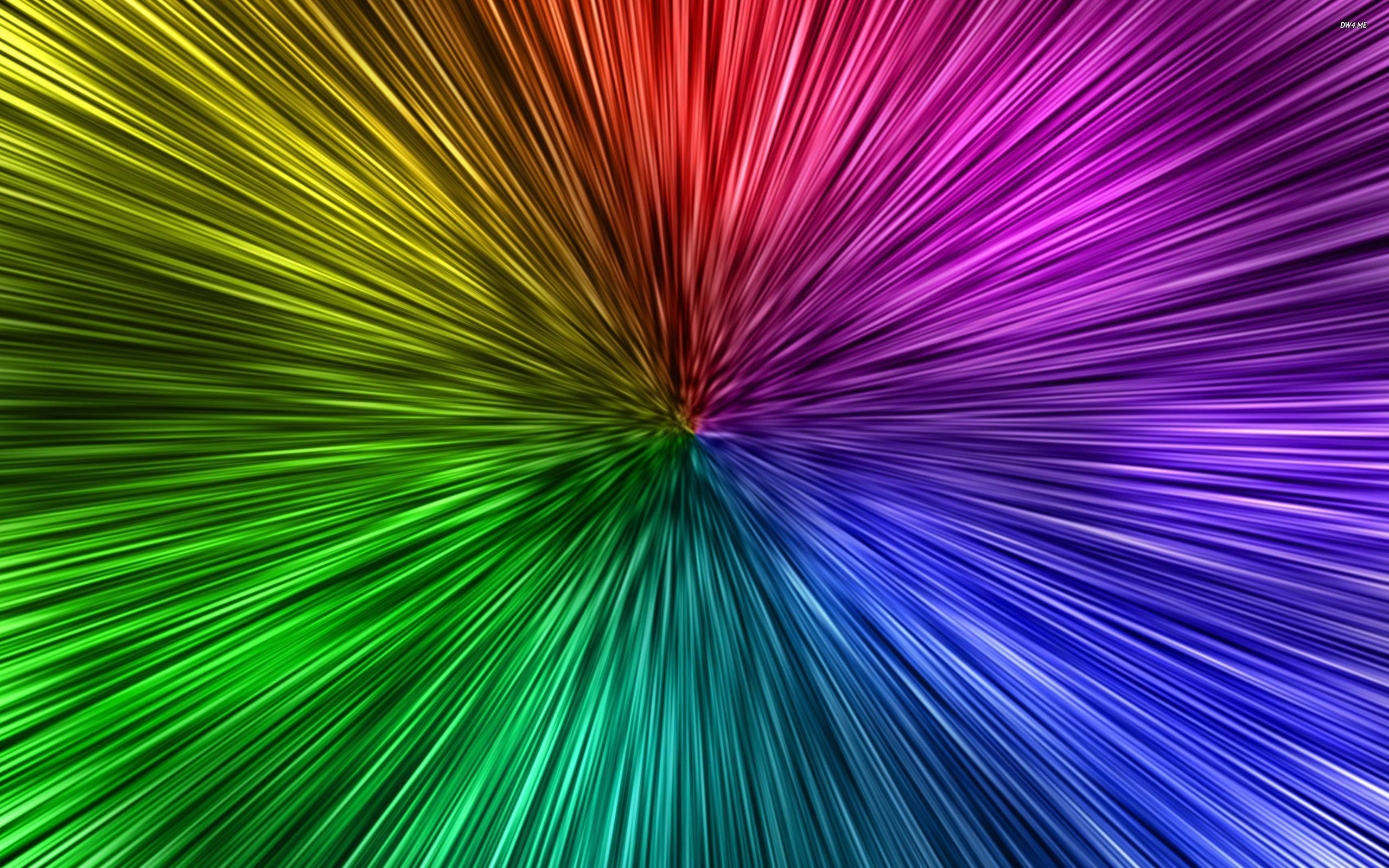 Color neon pink background