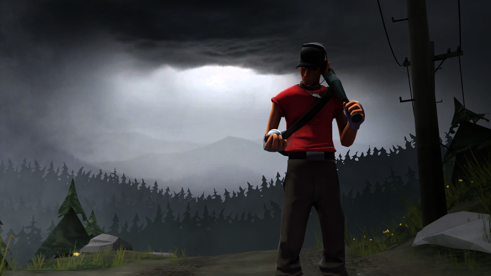 1920x1080 TF2 - Scout Wallpaper by QuickKritz TF2 - Scout Wallpaper by QuickKritz