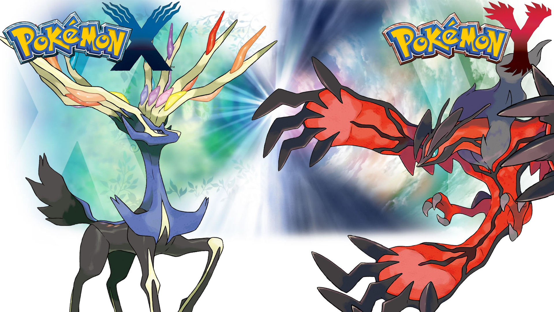 1920x1080 Xerneas And Yveltal Wallpaper
