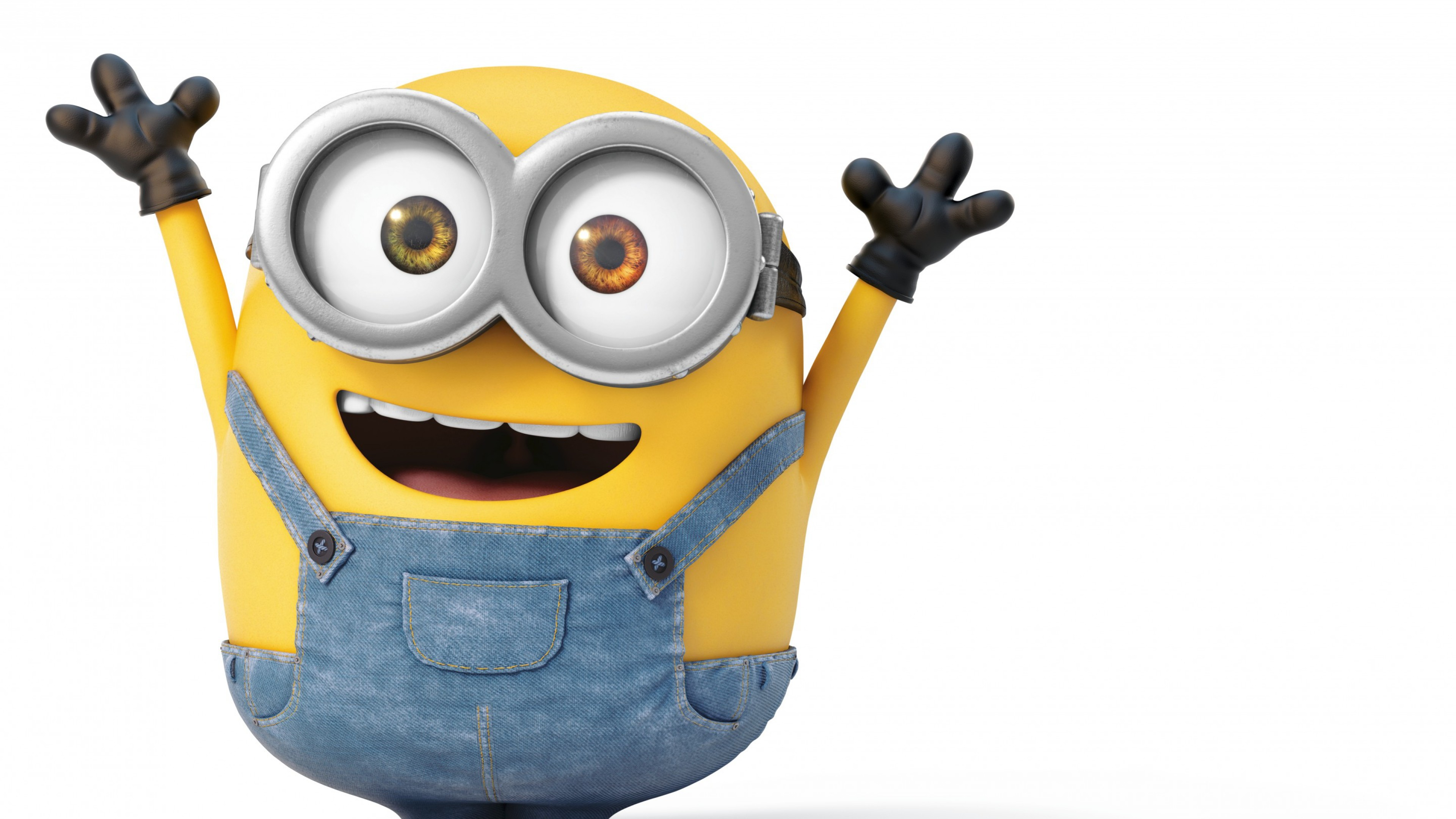 3840x2160 Preview wallpaper minions, bob, joy