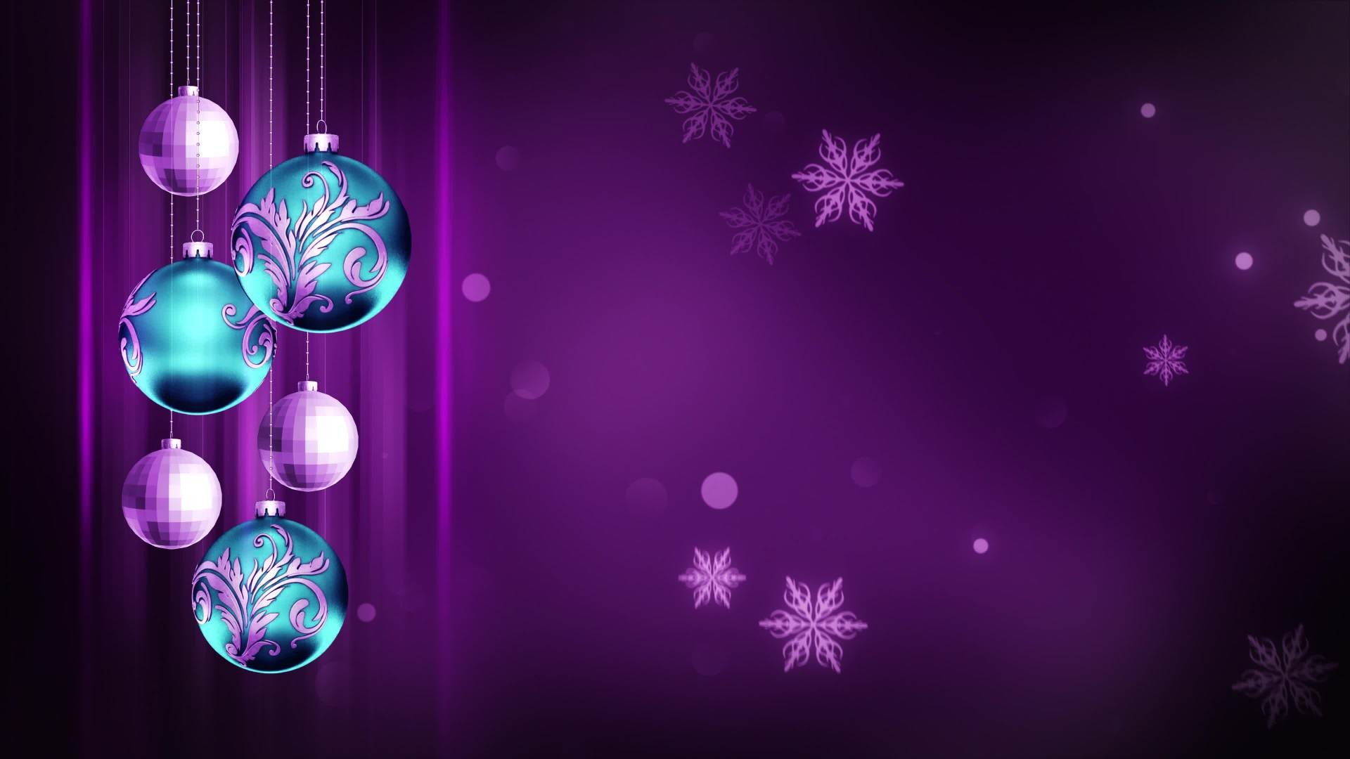 1920x1080 Blue & Deep Purple Ornaments 4K Christmas Motion Background Loop - Free HD  Video Clips & Stock Video Footage at Videezy!