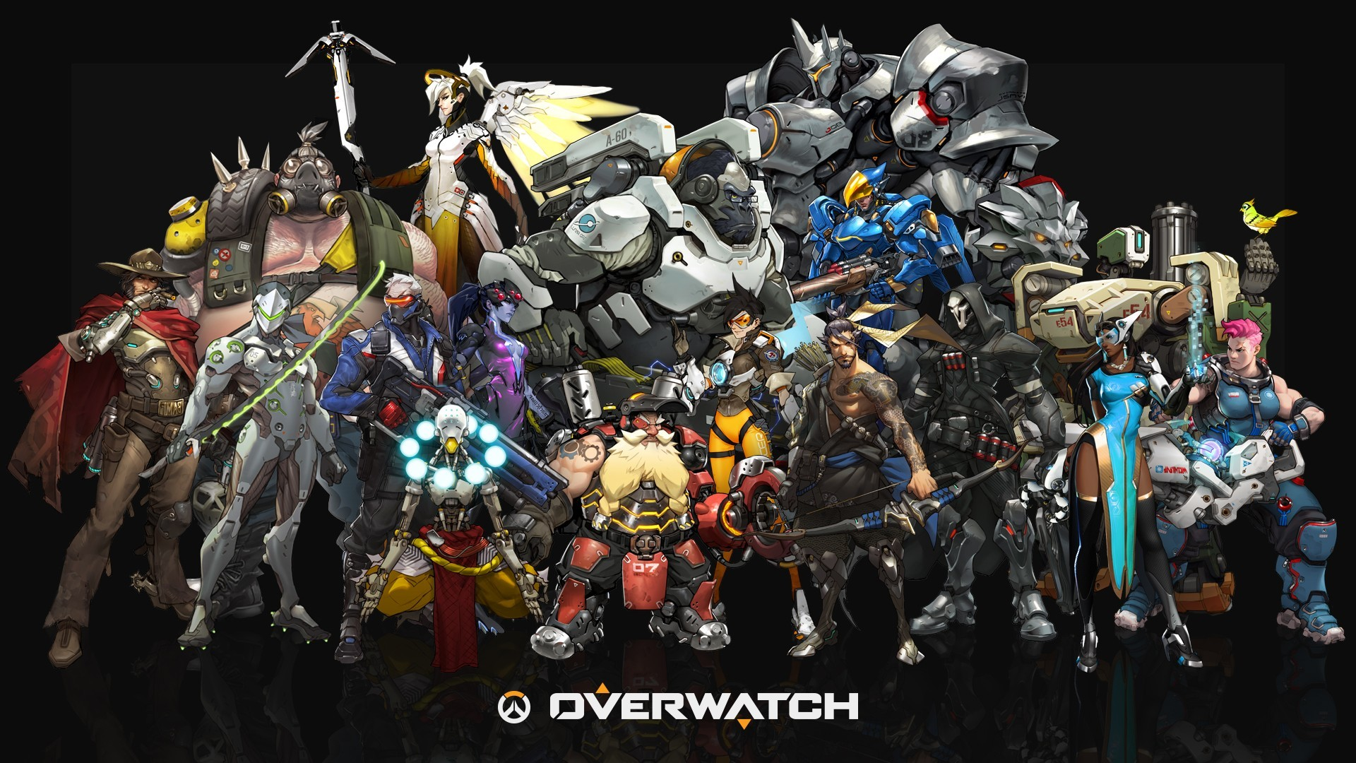 1920x1080 Blizzard Entertainment, Overwatch, Video Games Wallpapers HD / Desktop and  Mobile Backgrounds