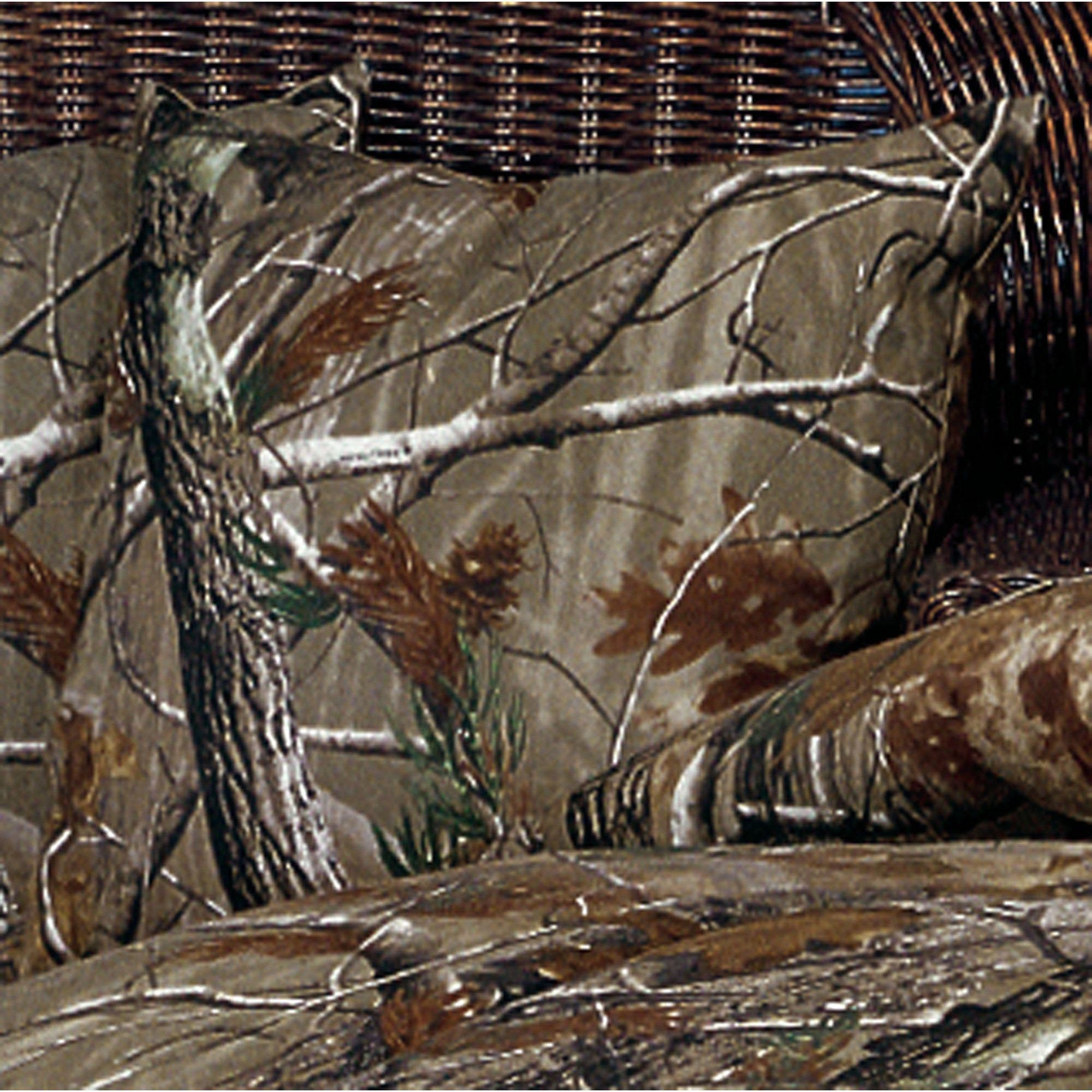 2000x2000 Realtree(R) Camo Square Pillow Light Taupe 18 Square