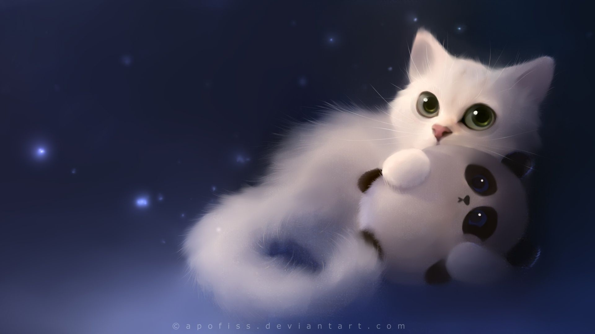 1920x1080  Cute Anime Cat Wallpaper (62+ images)