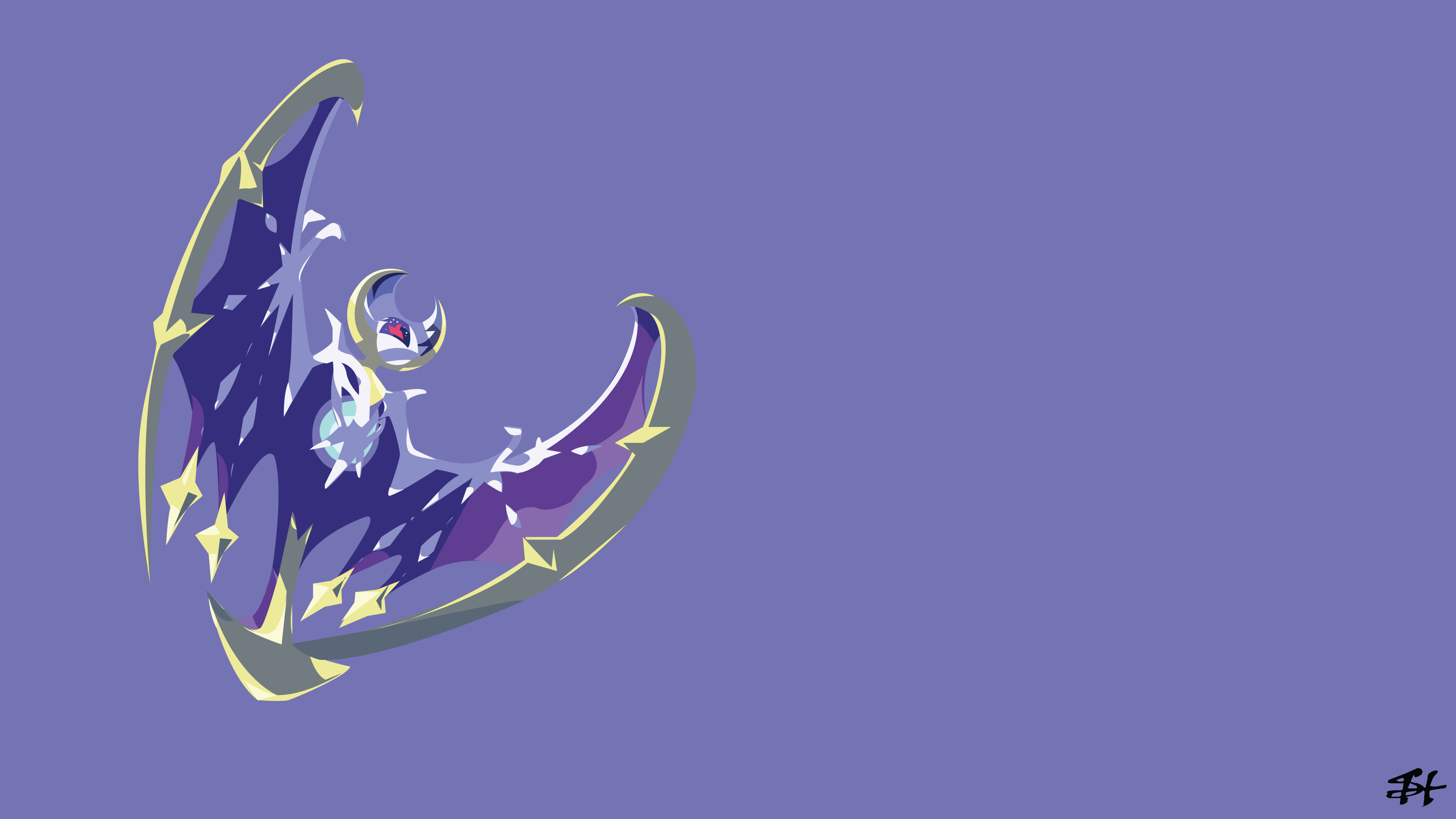 3840x2160 16 Lunala (Pokémon) HD Wallpapers | Backgrounds - Wallpaper Abyss